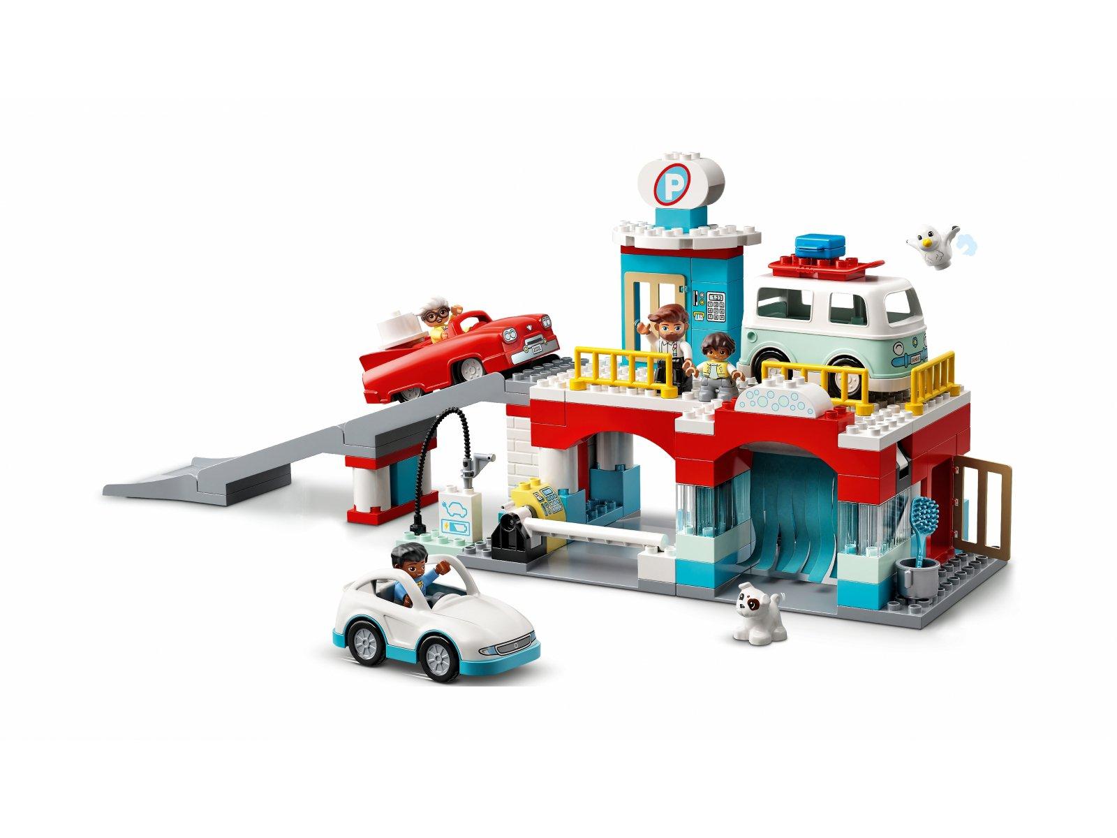 LEGO Duplo Parking piętrowy i myjnia samochodowa 10948