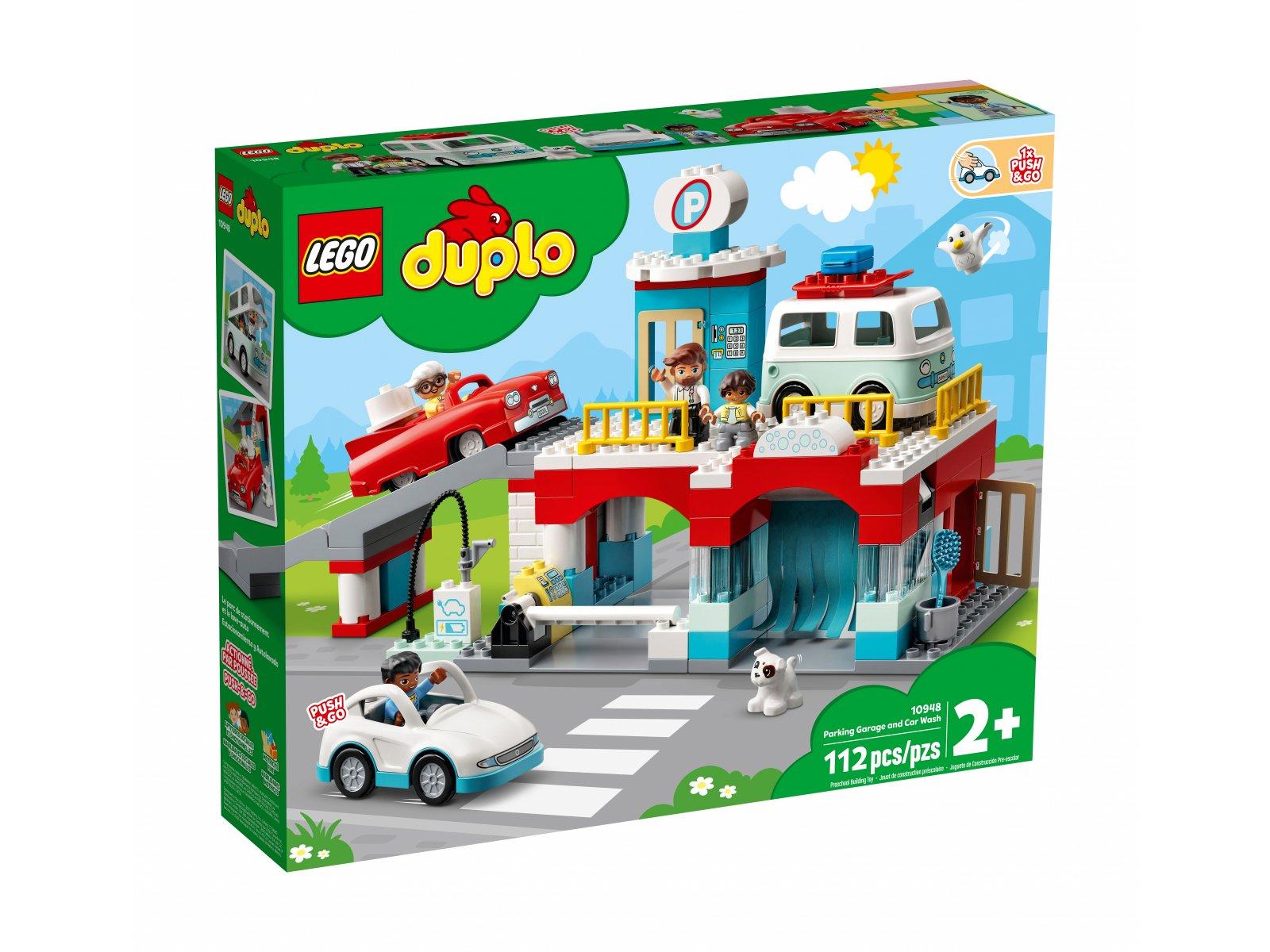 LEGO 10948 Duplo Parking piętrowy i myjnia samochodowa