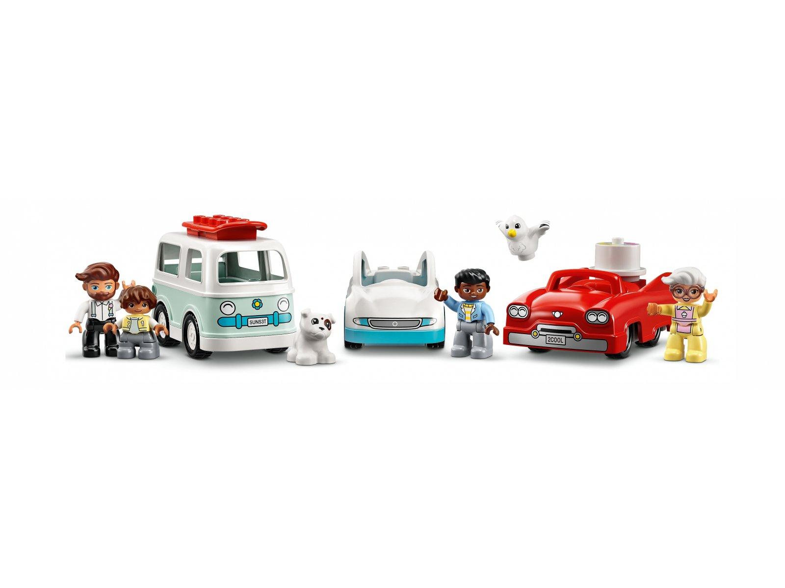 LEGO 10948 Parking piętrowy i myjnia samochodowa