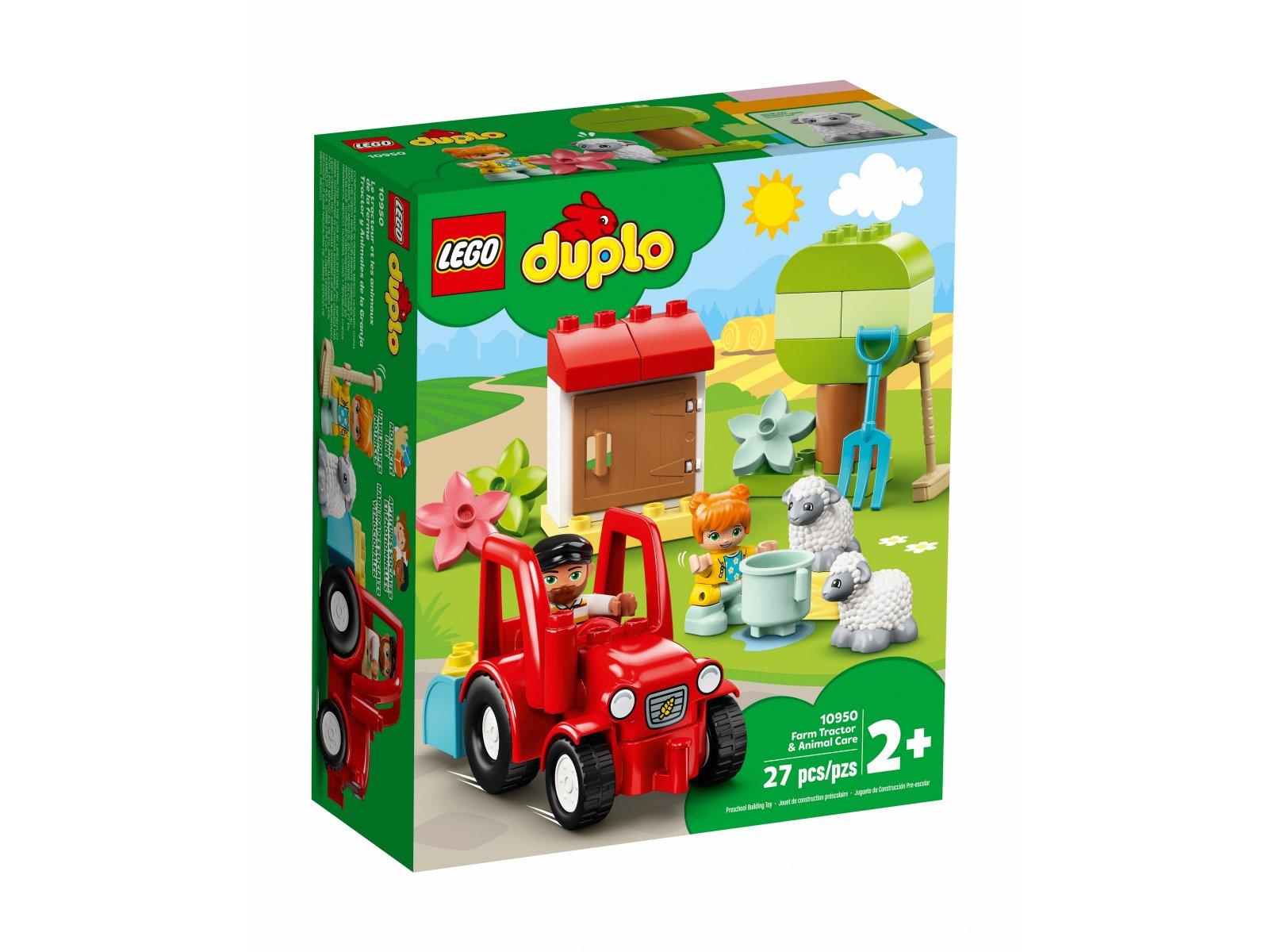 LEGO 10950 Traktor i zwierzęta gospodarskie