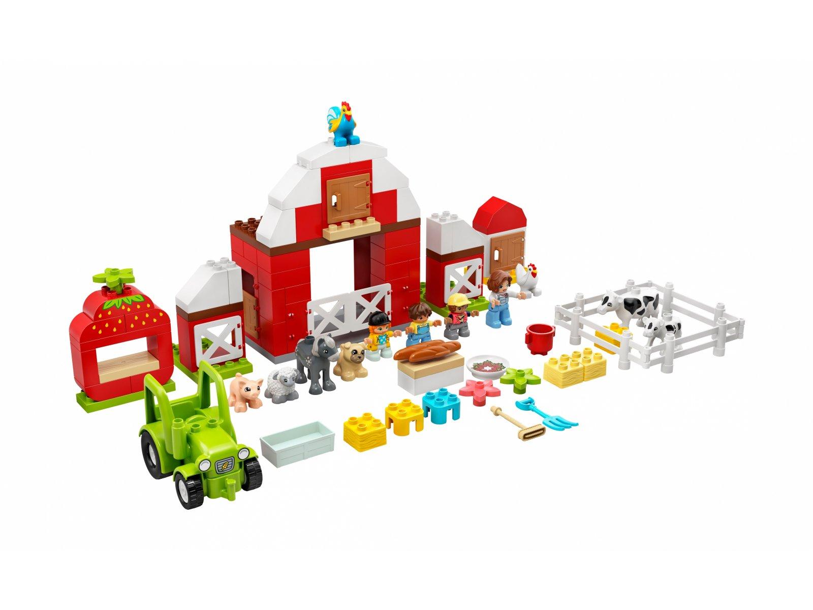 LEGO Duplo 10952 Stodoła, traktor i zwierzęta gospodarskie