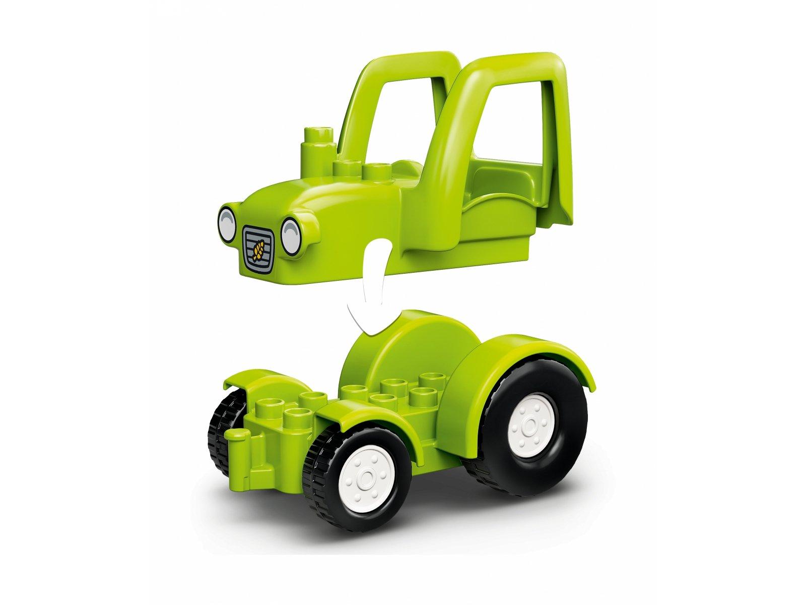 LEGO 10952 Duplo Stodoła, traktor i zwierzęta gospodarskie