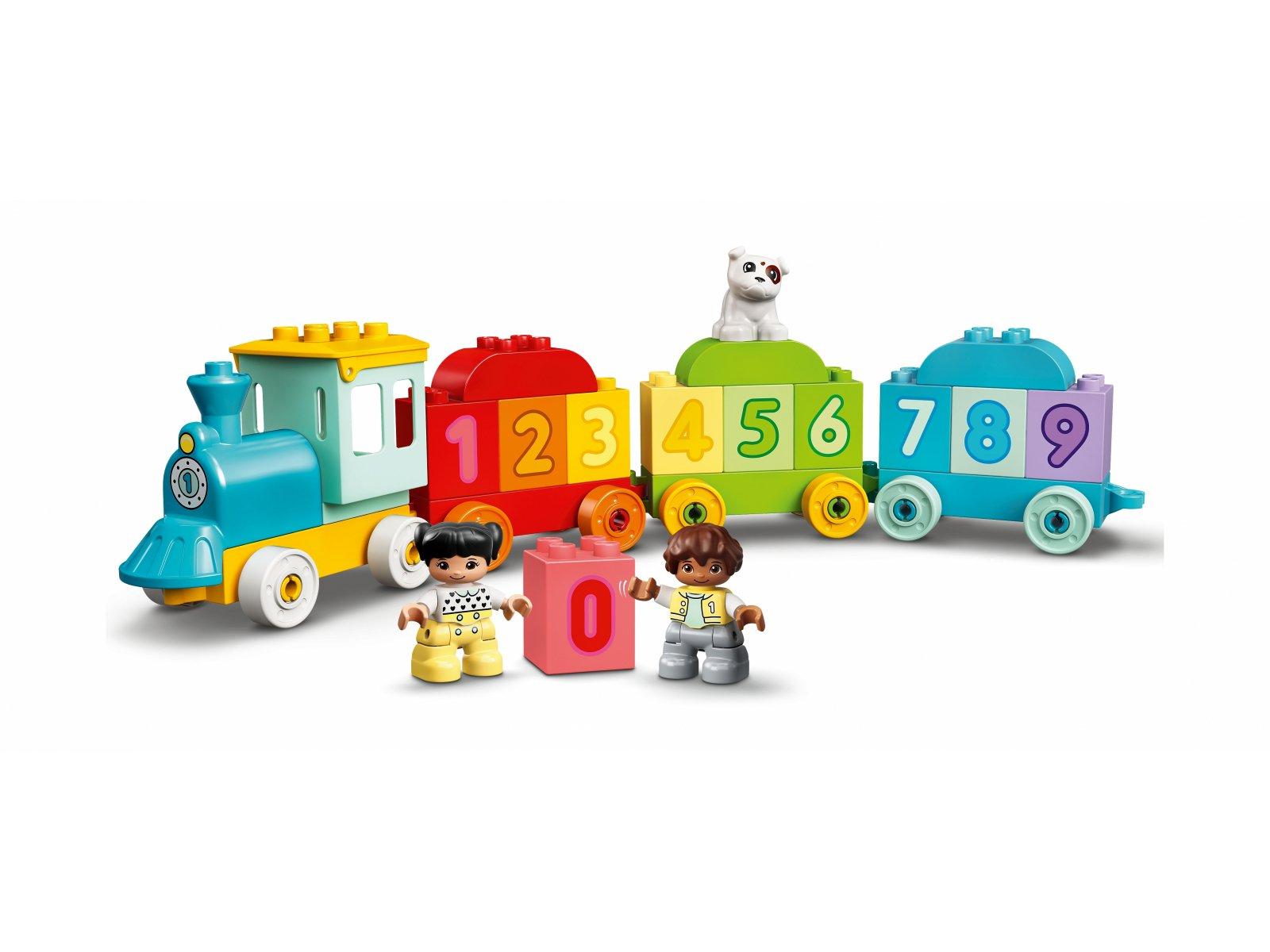 LEGO 10954 Duplo Pociąg z cyferkami — nauka liczenia