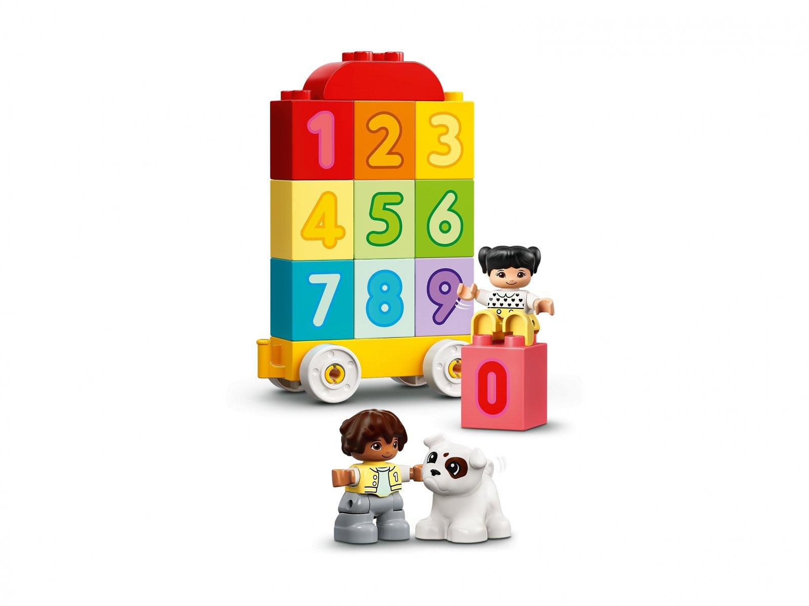 LEGO Duplo 10954 Pociąg z cyferkami — nauka liczenia