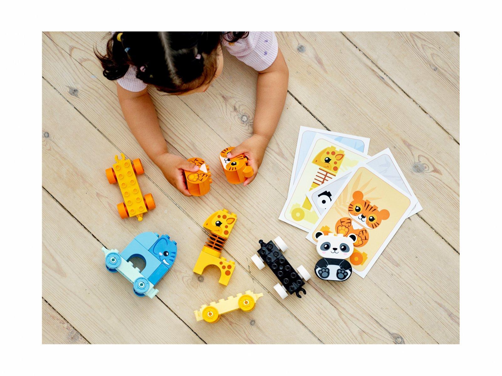 LEGO Duplo 10955 Pociąg ze zwierzątkami
