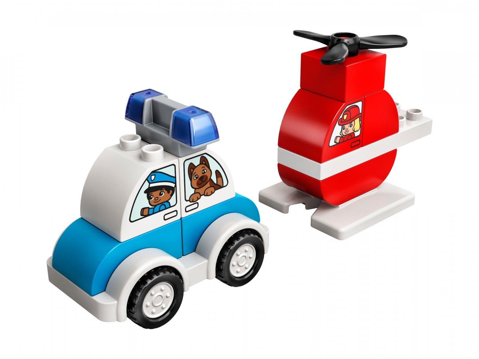 LEGO Duplo® Helikopter strażacki i radiowóz 10957