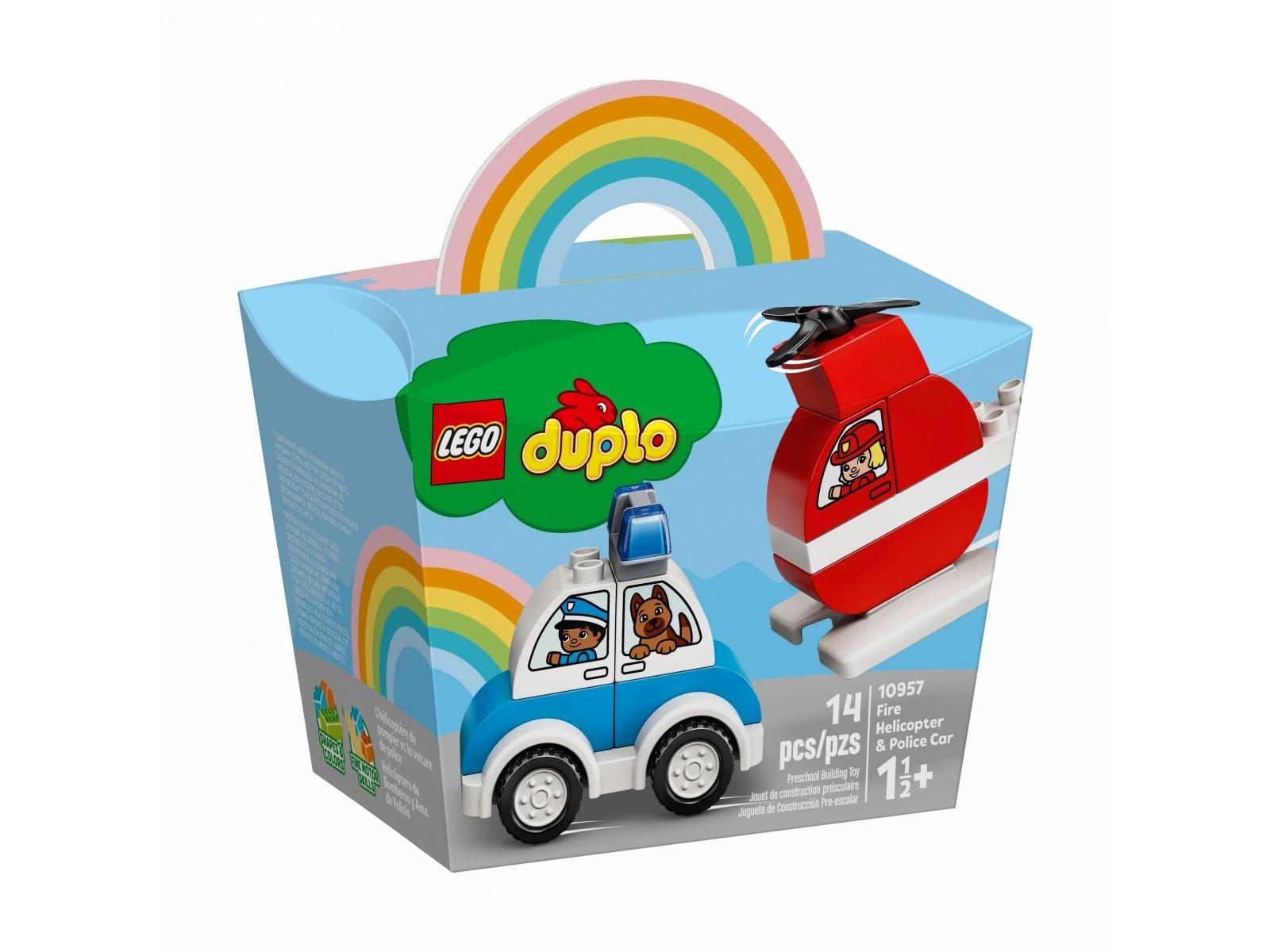LEGO Duplo® 10957 Helikopter strażacki i radiowóz