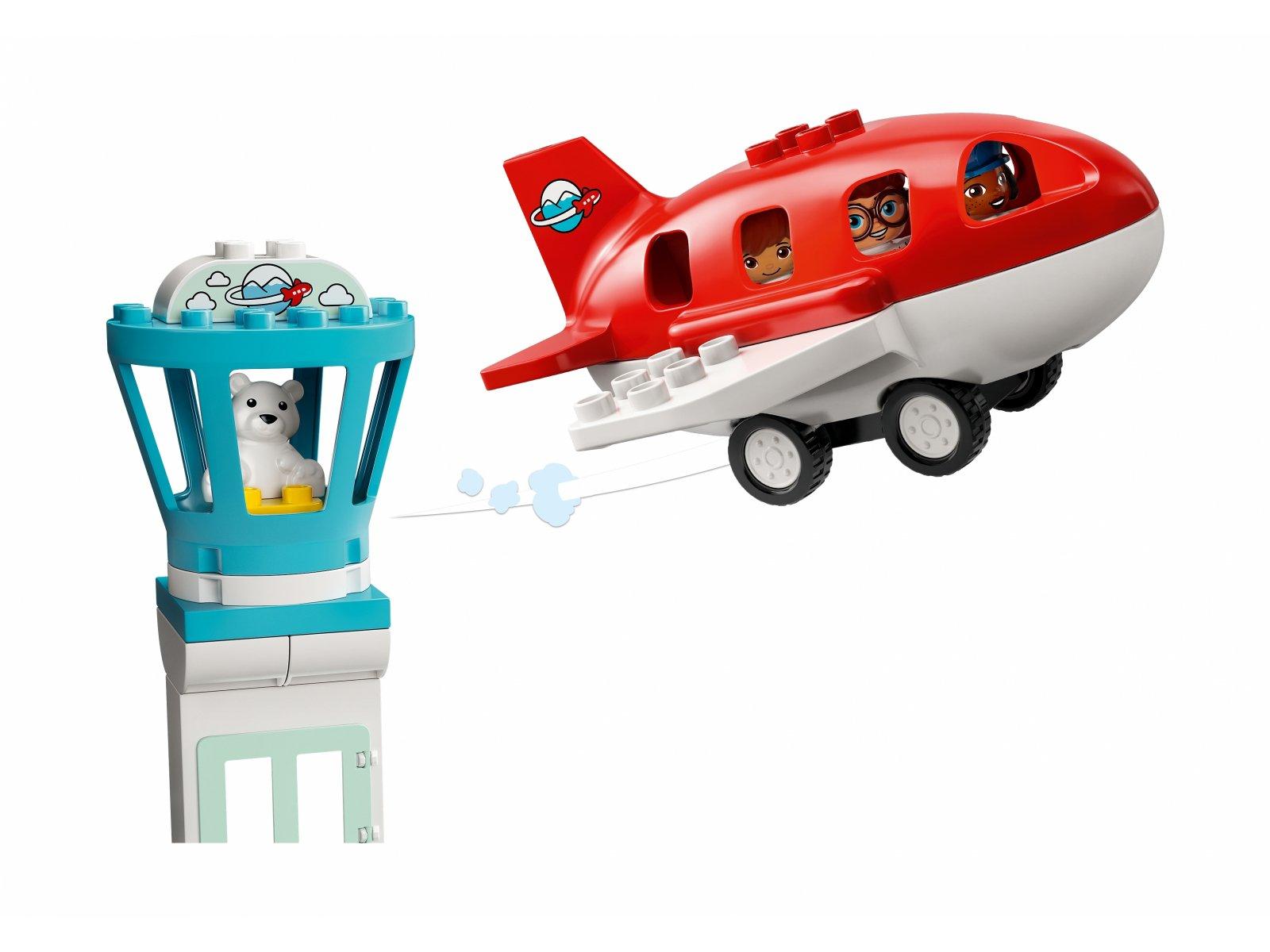 LEGO Duplo 10961 Samolot i lotnisko