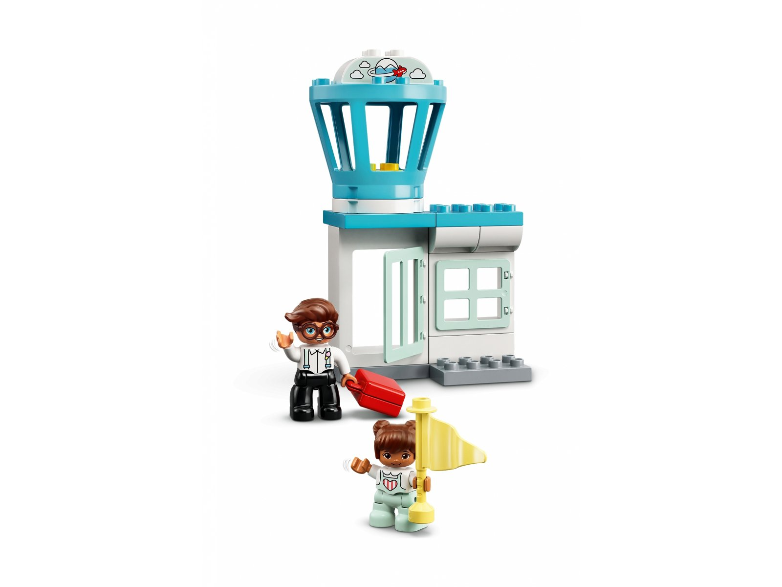LEGO 10961 Duplo Samolot i lotnisko