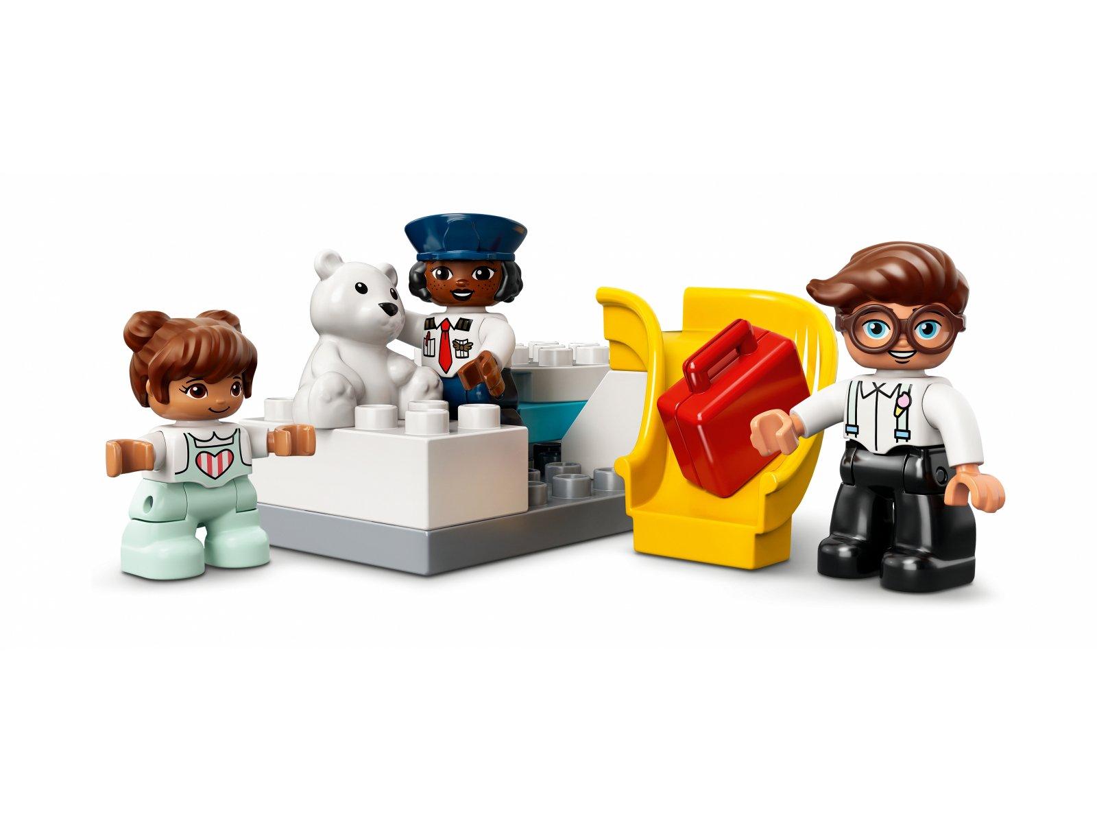 LEGO 10961 Samolot i lotnisko