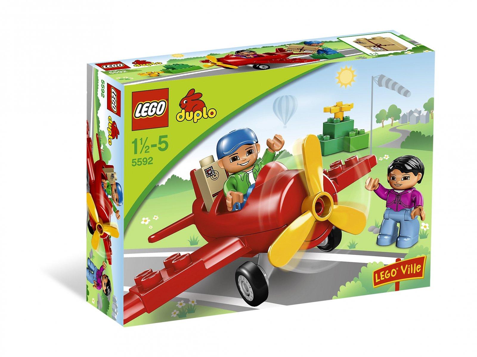 Lego 5592 Duplo Pierwszy Samolot Zklockówpl