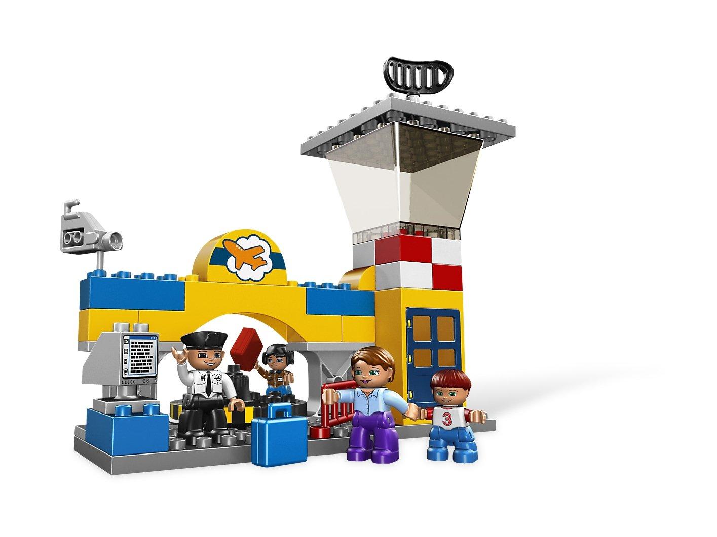 Lego 5595 Duplo Lotnisko Porównaj Ceny Zklockówpl