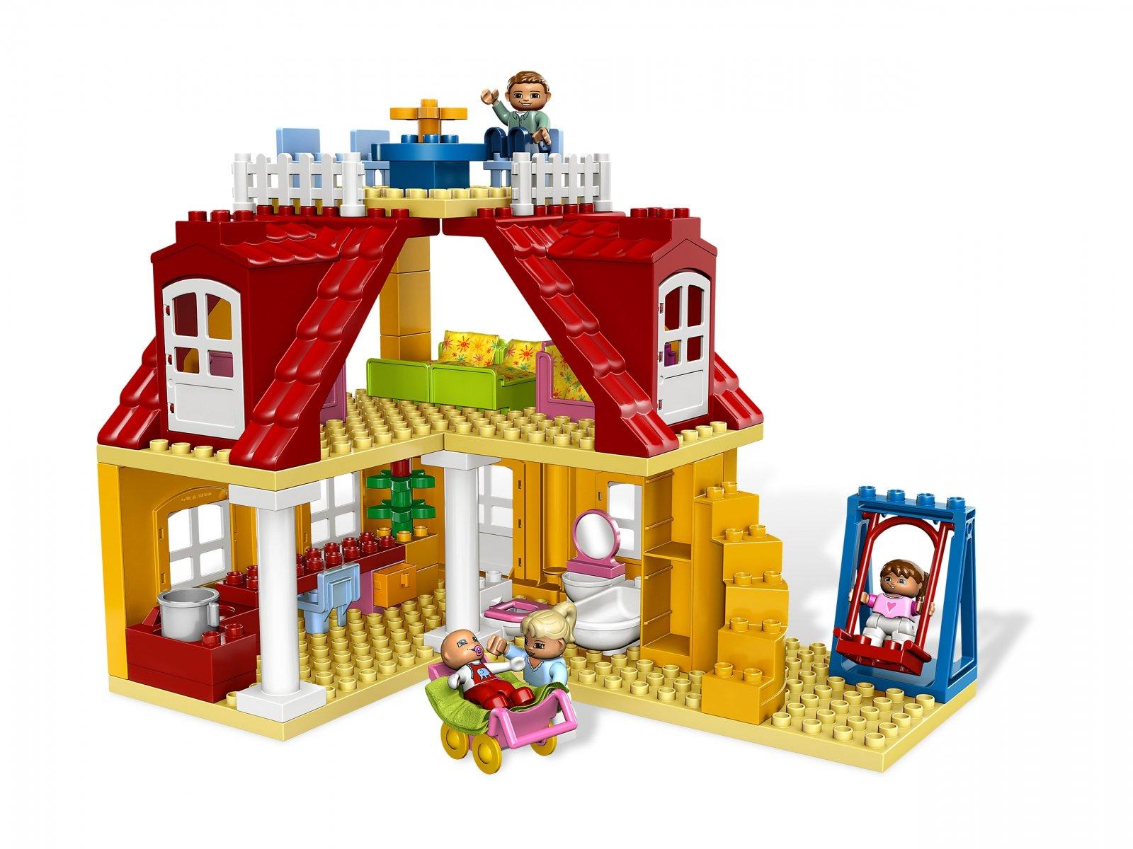 Lego 5639 Duplo Dom Rodzinny Porównaj Ceny Zklockówpl