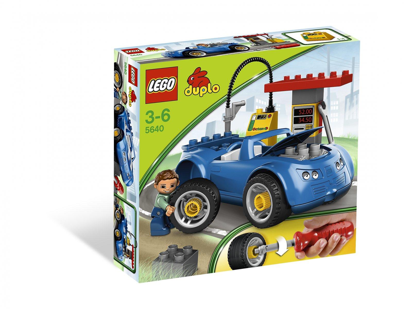 Lego 5640 Duplo Stacja Benzynowa Zklockówpl
