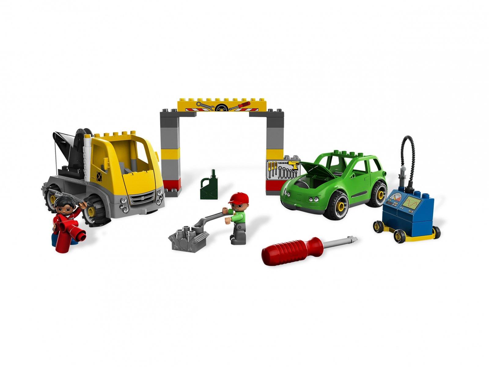 Lego 5641 Duplo Warsztat Samochodowy Zklockówpl