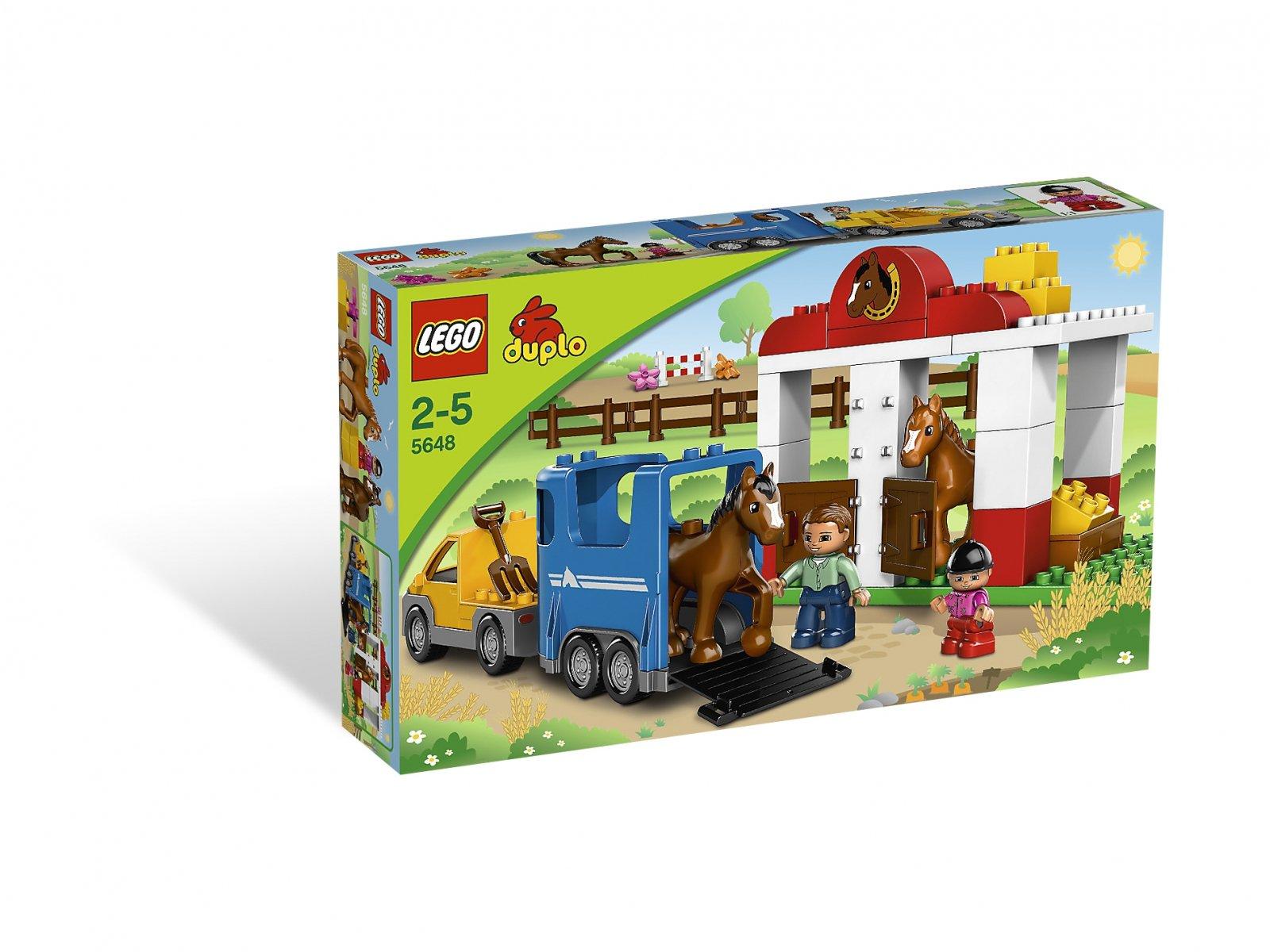 Lego 5648 Duplo Stajnia Porównaj Ceny Zklockówpl