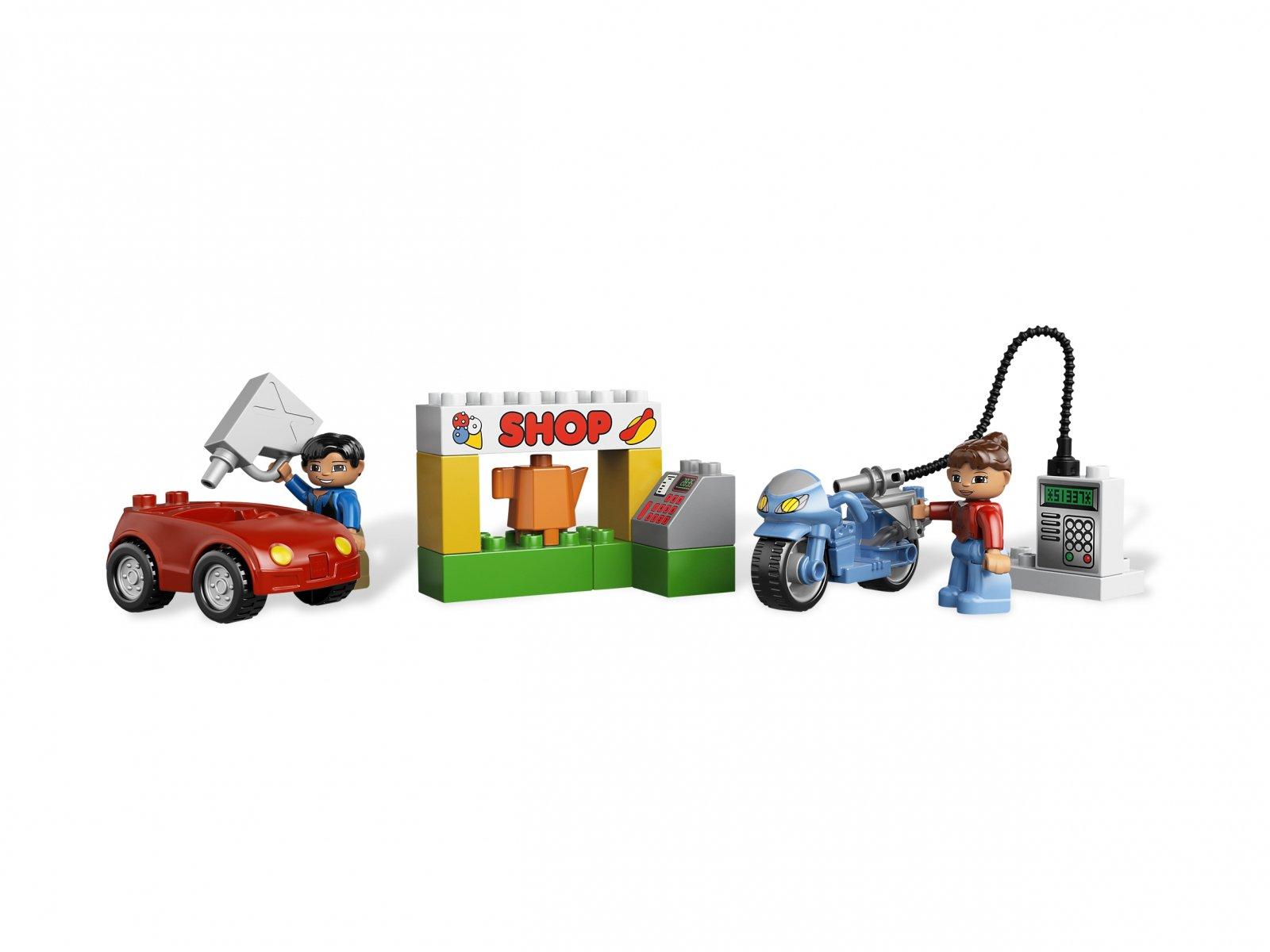 Lego 6171 Duplo Stacja Paliw Porównaj Ceny Zklockówpl