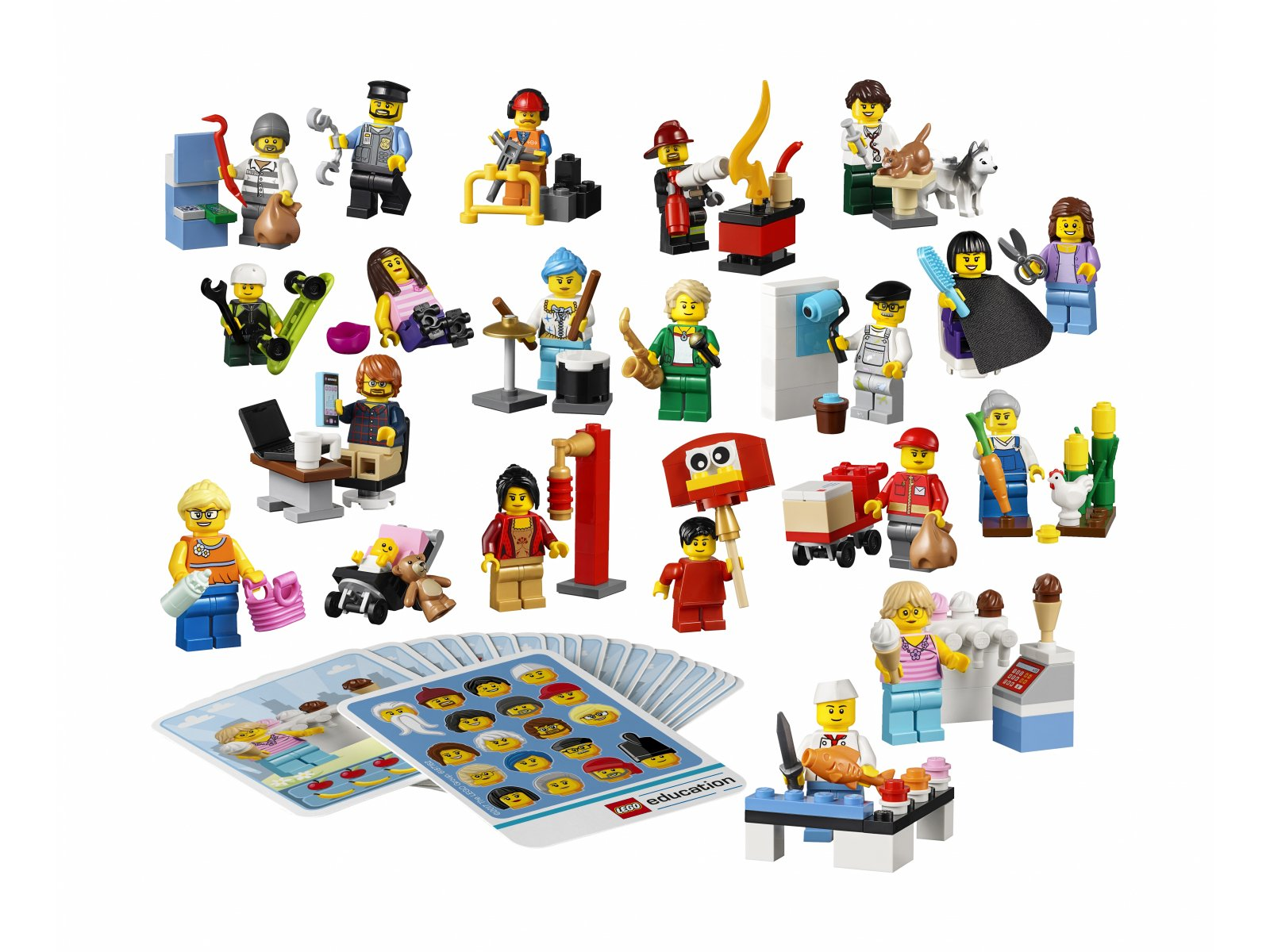 LEGO 45022 Education Community Minifigure Set