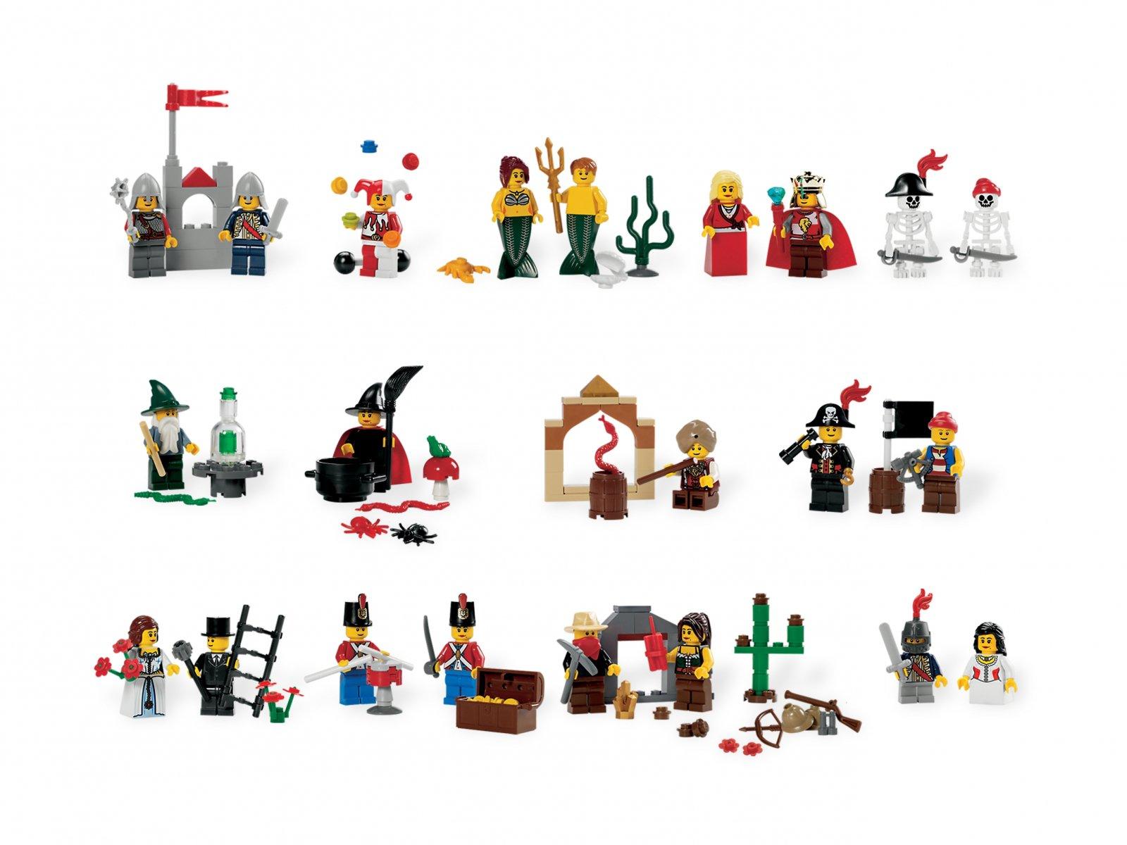 LEGO Education Fairytale and Historic Minifigure Set 9349