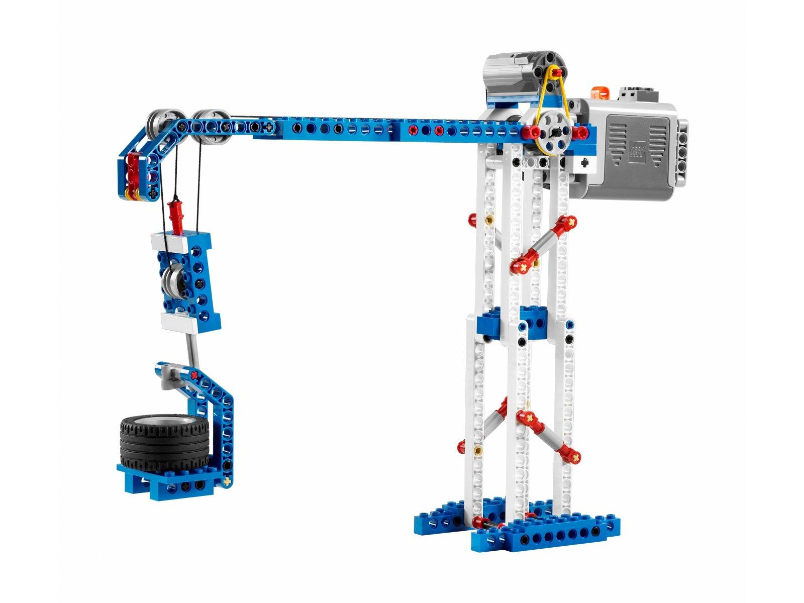 LEGO 9686 Education Zestaw prostych i zasilanych maszyn