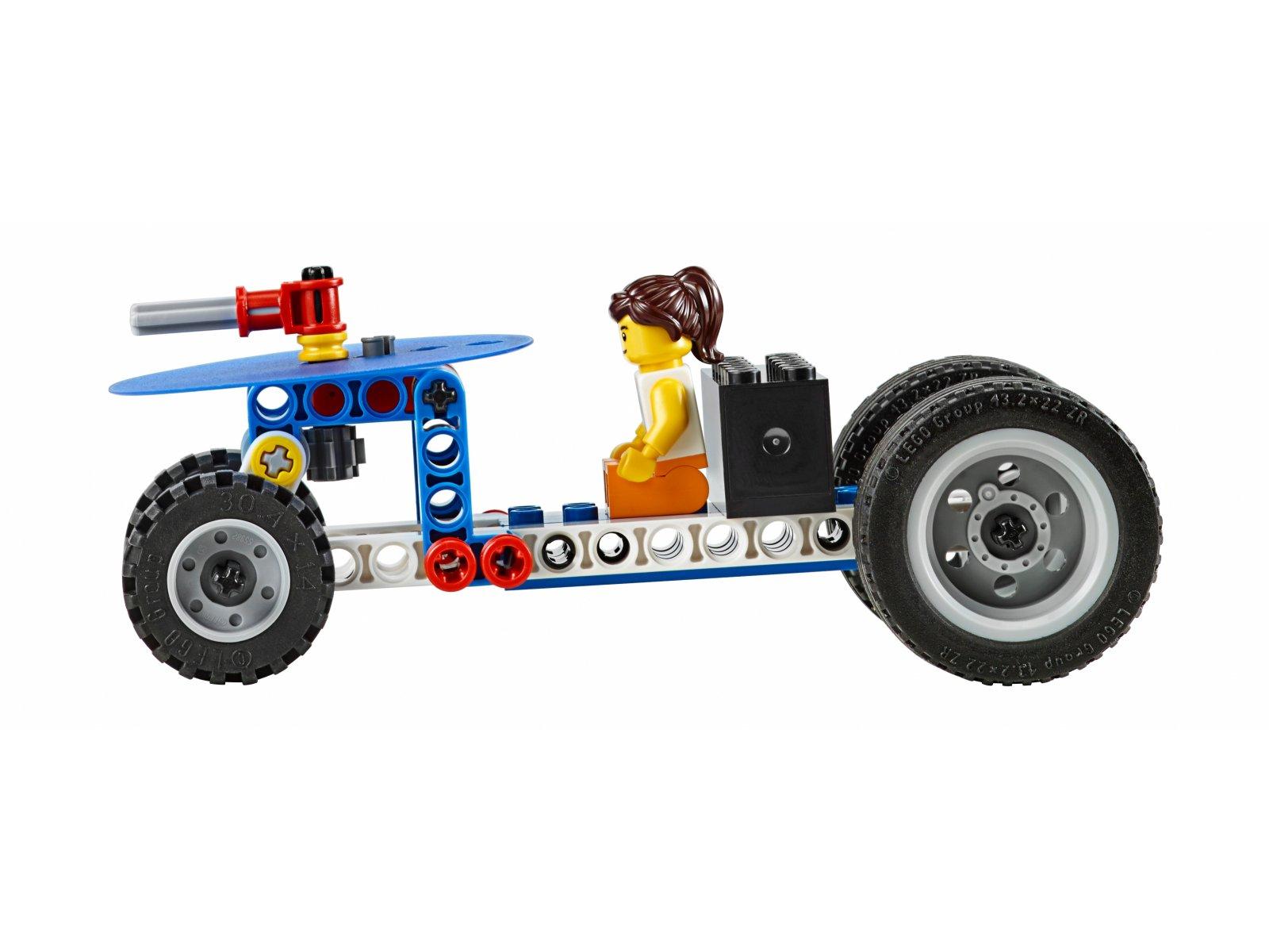 LEGO Education Zestaw prostych i zasilanych maszyn 9686