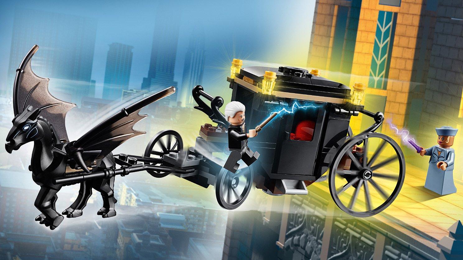 LEGO Fantastic Beasts™ Ucieczka Grindelwalda
