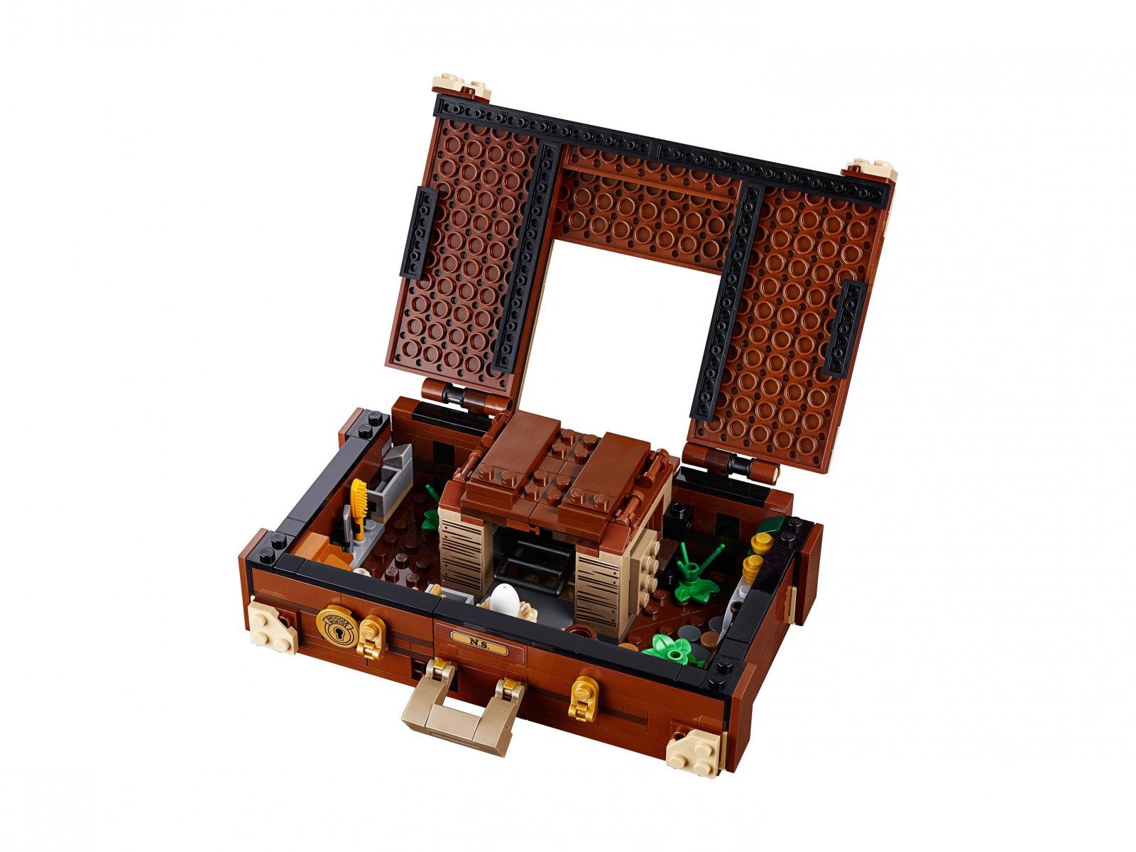 LEGO Fantastic Beasts™ Walizka Newta z magicznymi stworzeniami 75952
