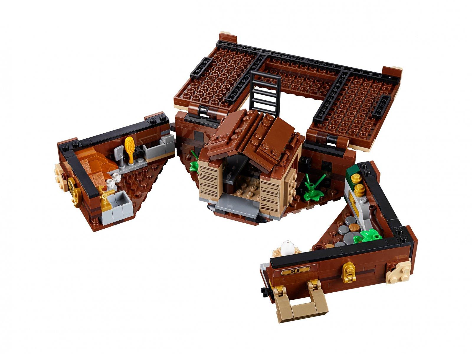 LEGO Fantastic Beasts™ 75952 Walizka Newta z magicznymi stworzeniami
