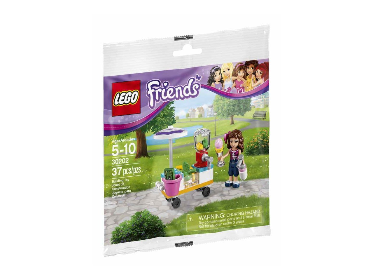 LEGO 30202 Friends Smoothie Stand