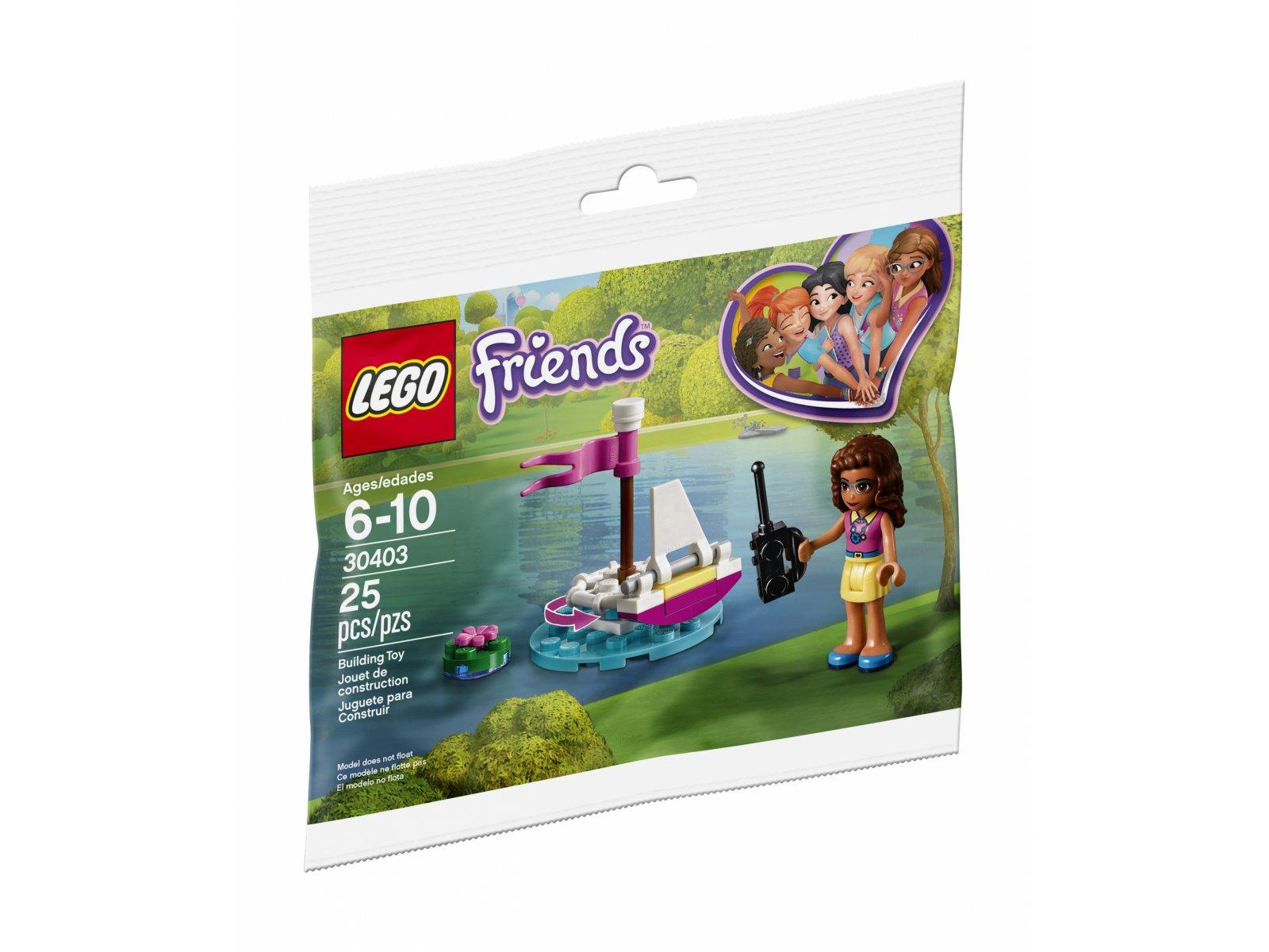Lego 30403 Friends łódź Olivii Zklockówpl