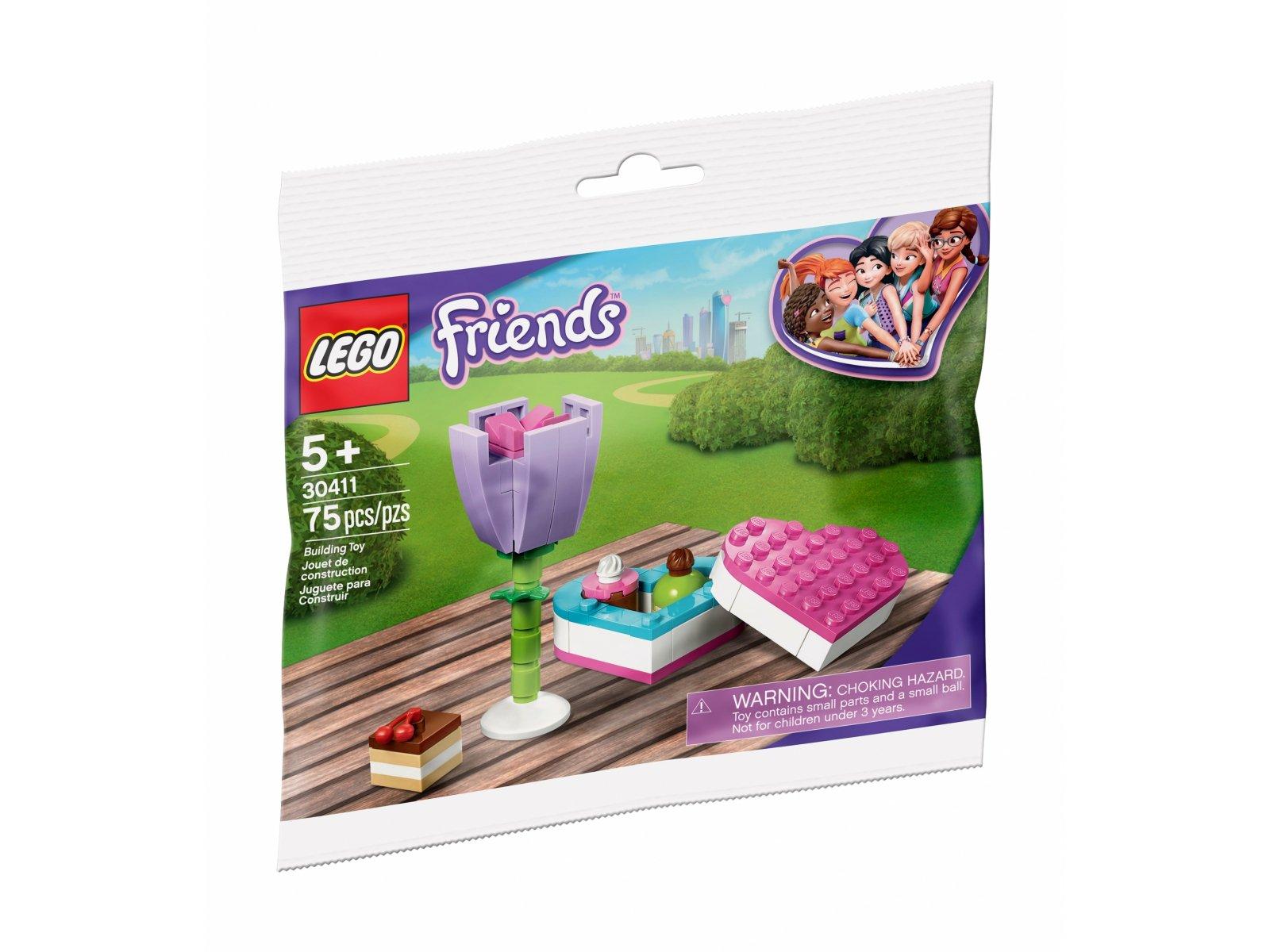 LEGO 30411 Friends Bombonierka i kwiaty