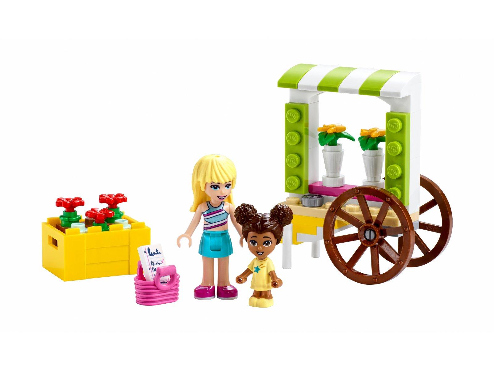 LEGO 30413 Friends Wózek z kwiatami
