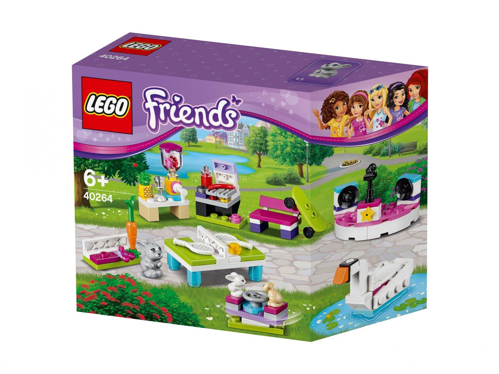 Lego 40264 Friends Zestaw Akcesoriów Zbuduj Własne Miasto Heartlake