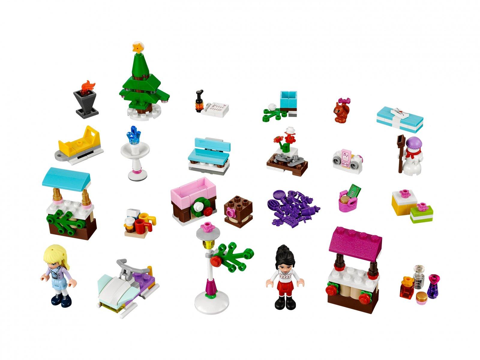 Lego 41016 Friends Kalendarz Adwentowy Zklockówpl
