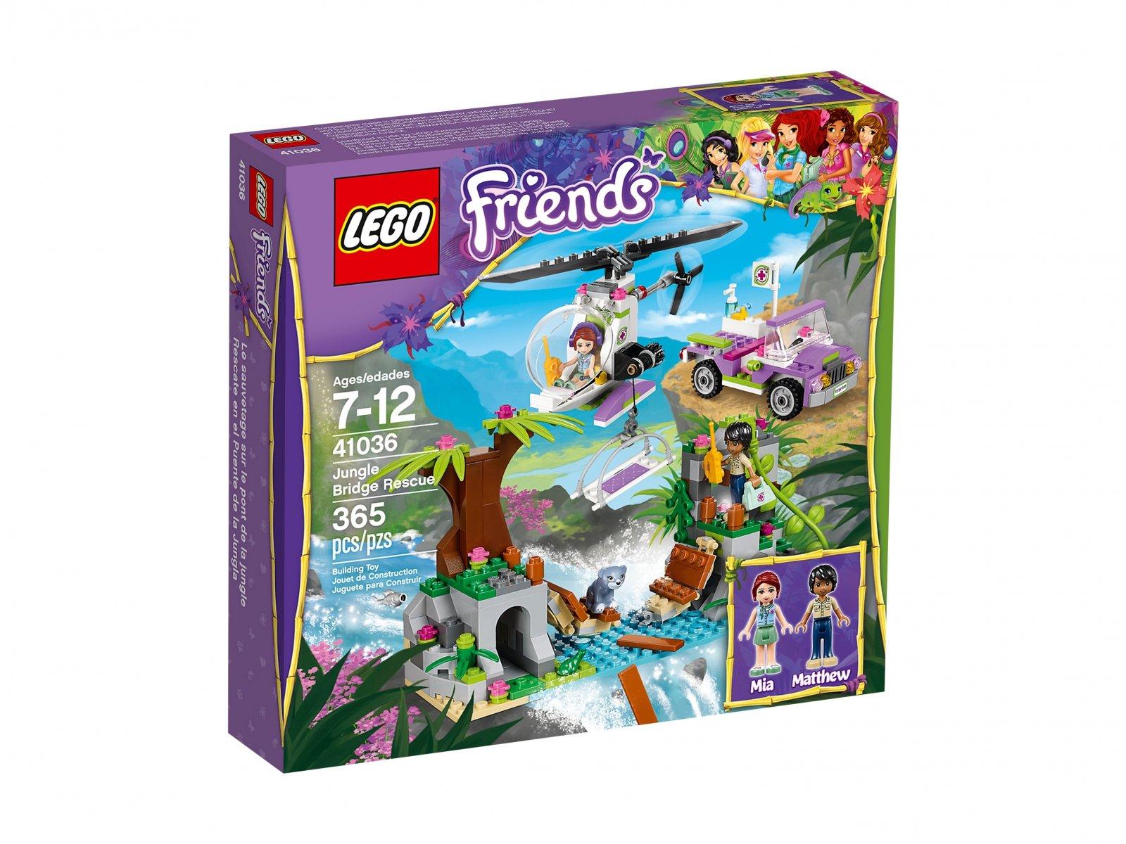 Lego 41036 Friends Ratunek Niedźwiadka Zklockówpl