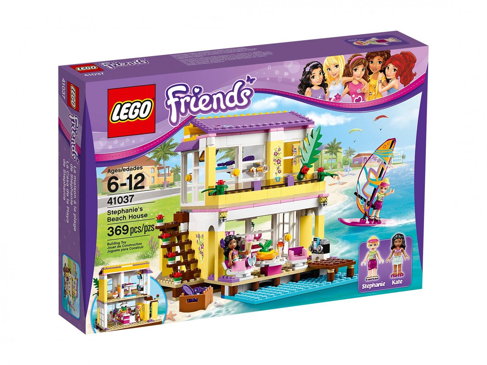 LEGO 41037 Friends Letni domek na plaży | zklocków.pl