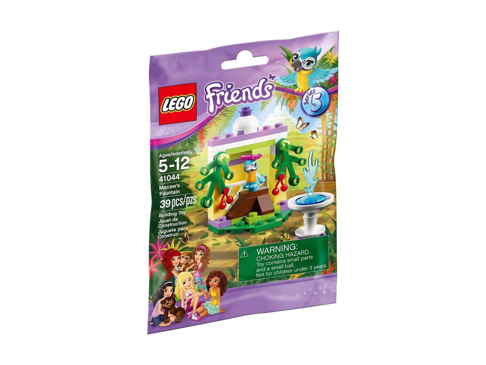Lego 41044 Friends Fontanna Papugi Zklockówpl