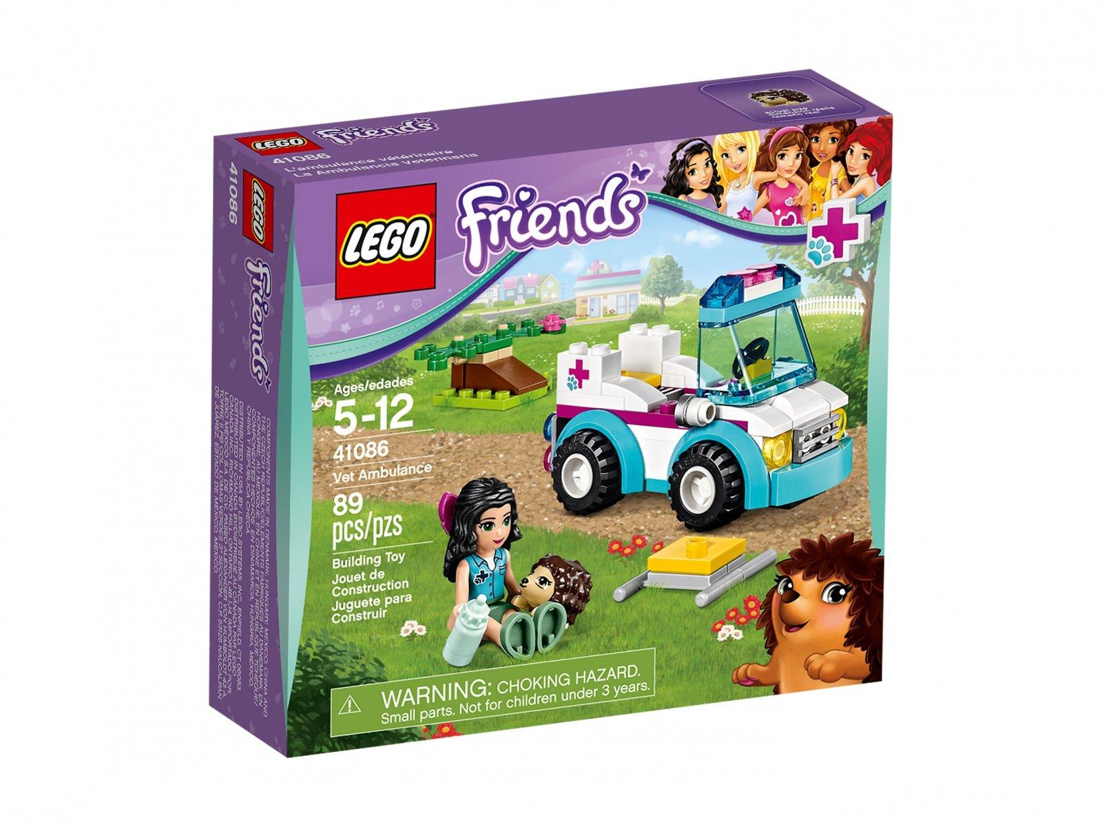 Lego 41086 Friends Karetka Weterynarza Zklockówpl