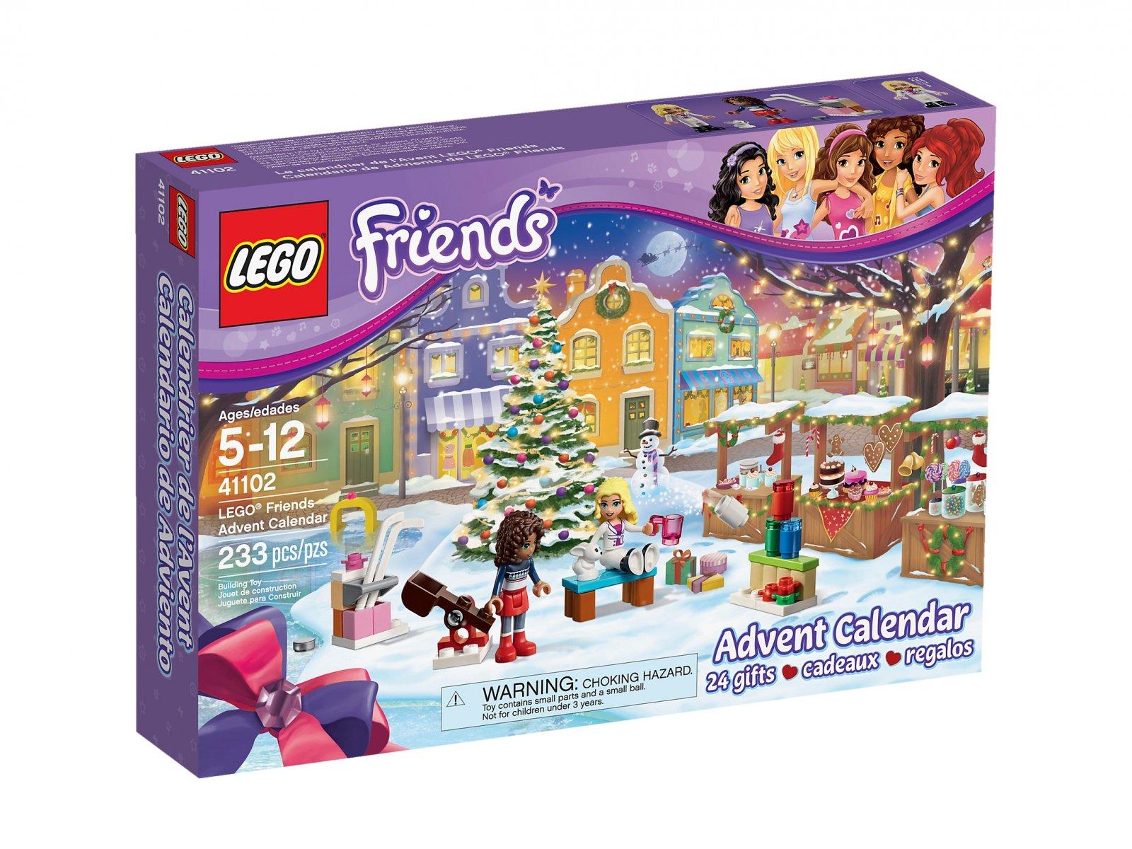 Lego 41102 Friends Kalendarz Adwentowy Zklockówpl