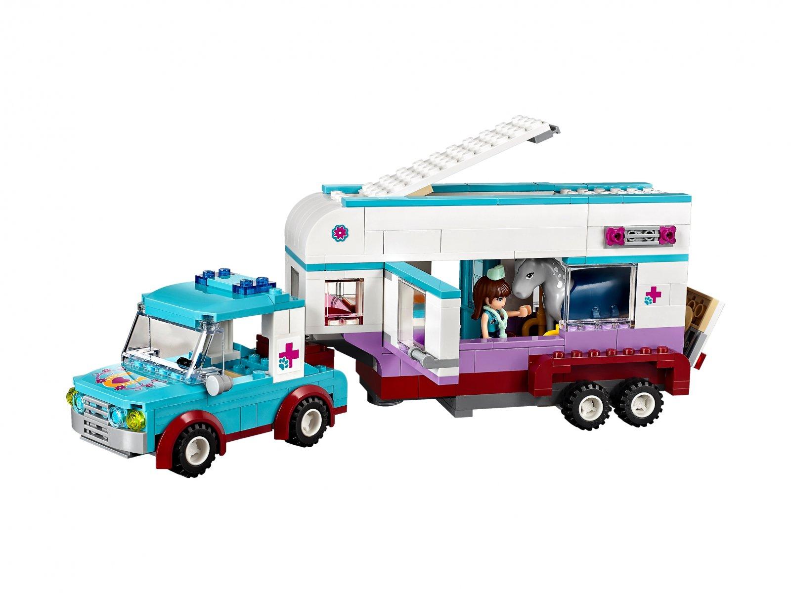 LEGO 41125 Friends Przyczepa lecznicza dla koni