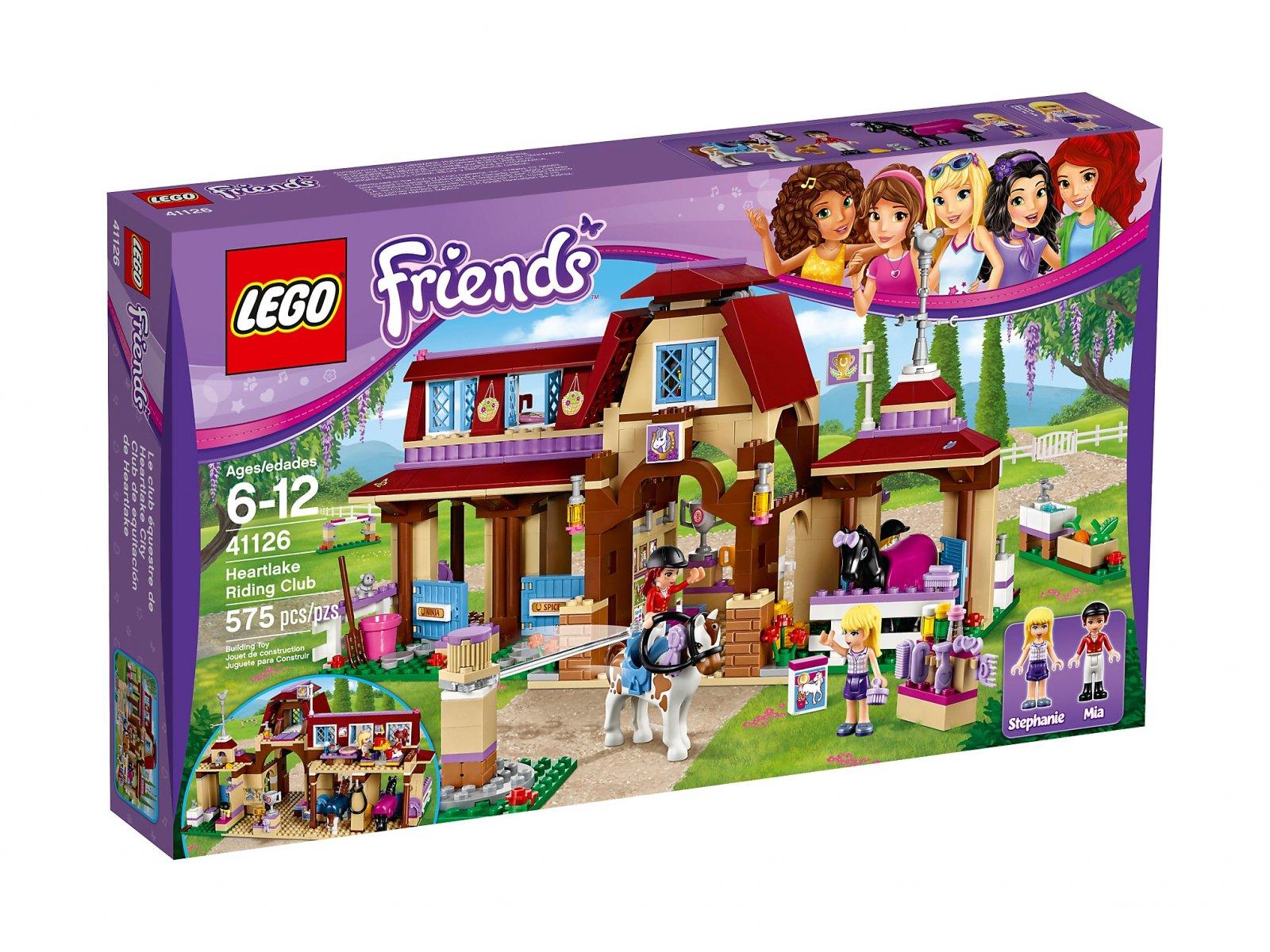 LEGO 41126 Friends Klub jeździecki Heartlake