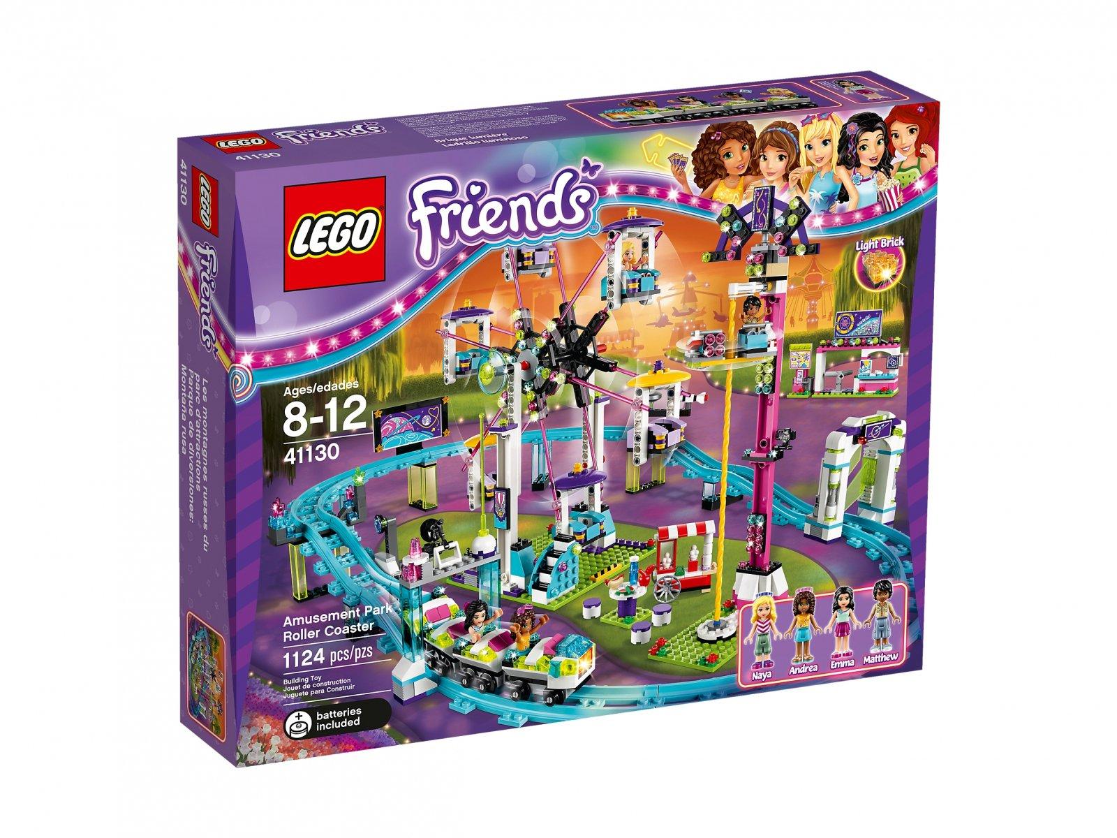 Lego 41130 Friends Kolejka Górska W Parku Rozrywki