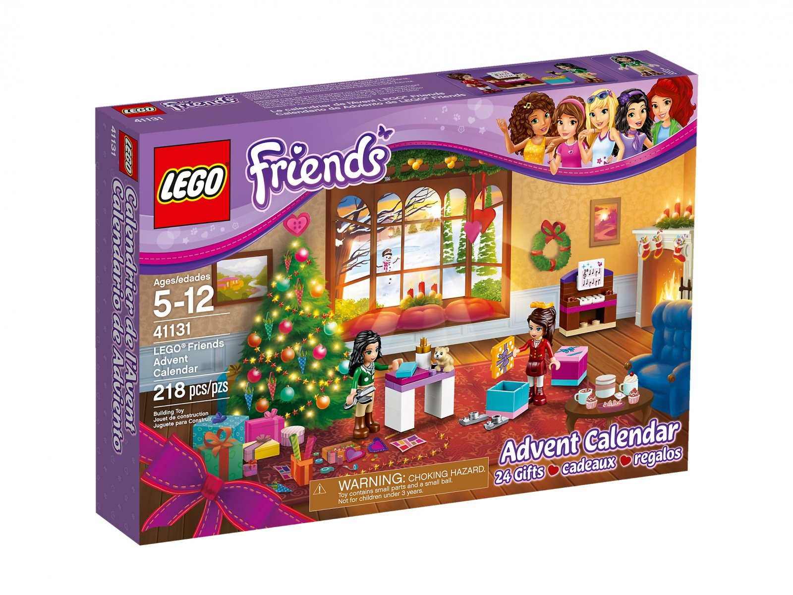 Lego 41131 Friends Kalendarz Adwentowy Zklockówpl