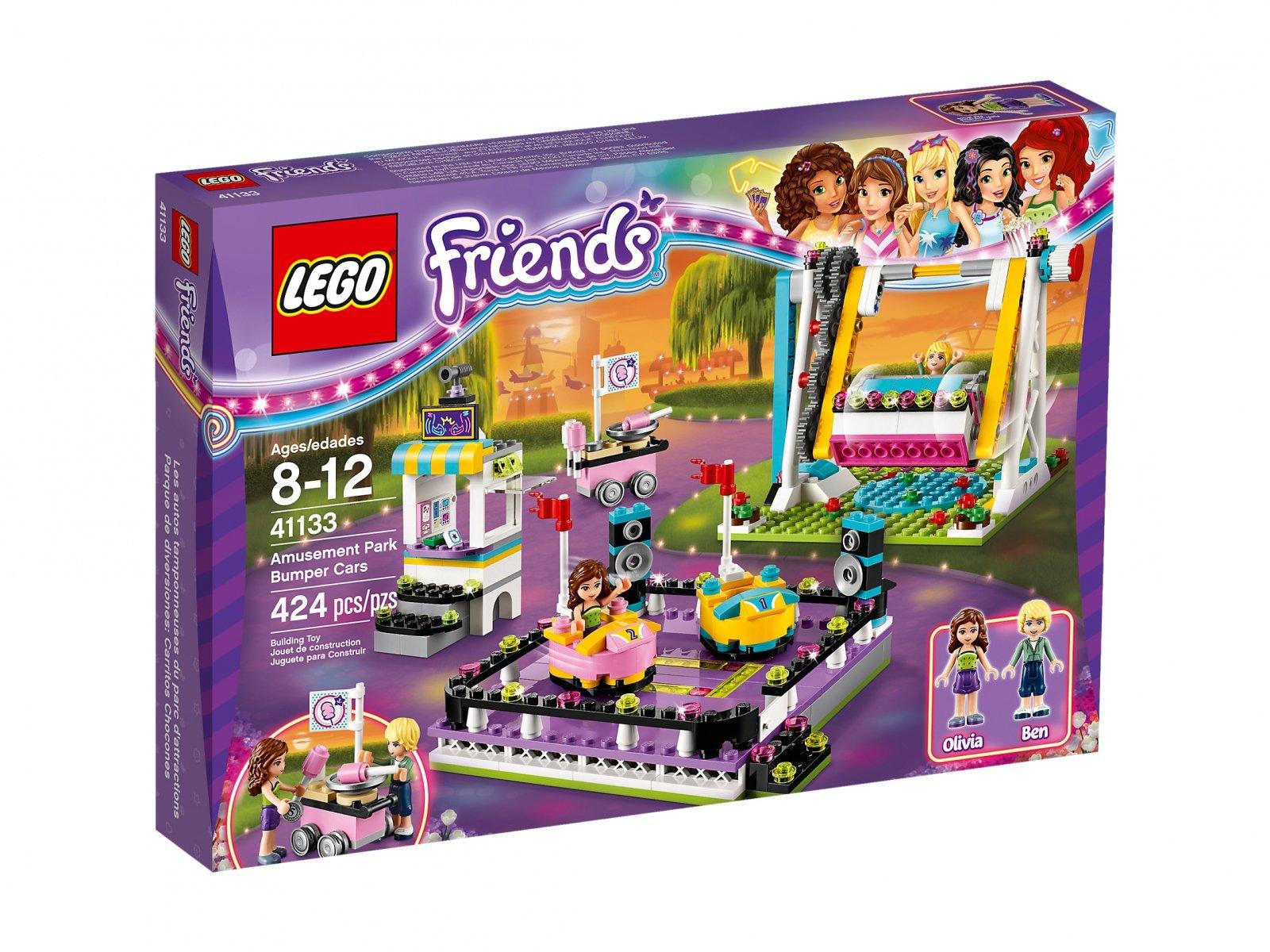 Lego 41133 Friends Autka W Parku Rozrywki Zklockówpl