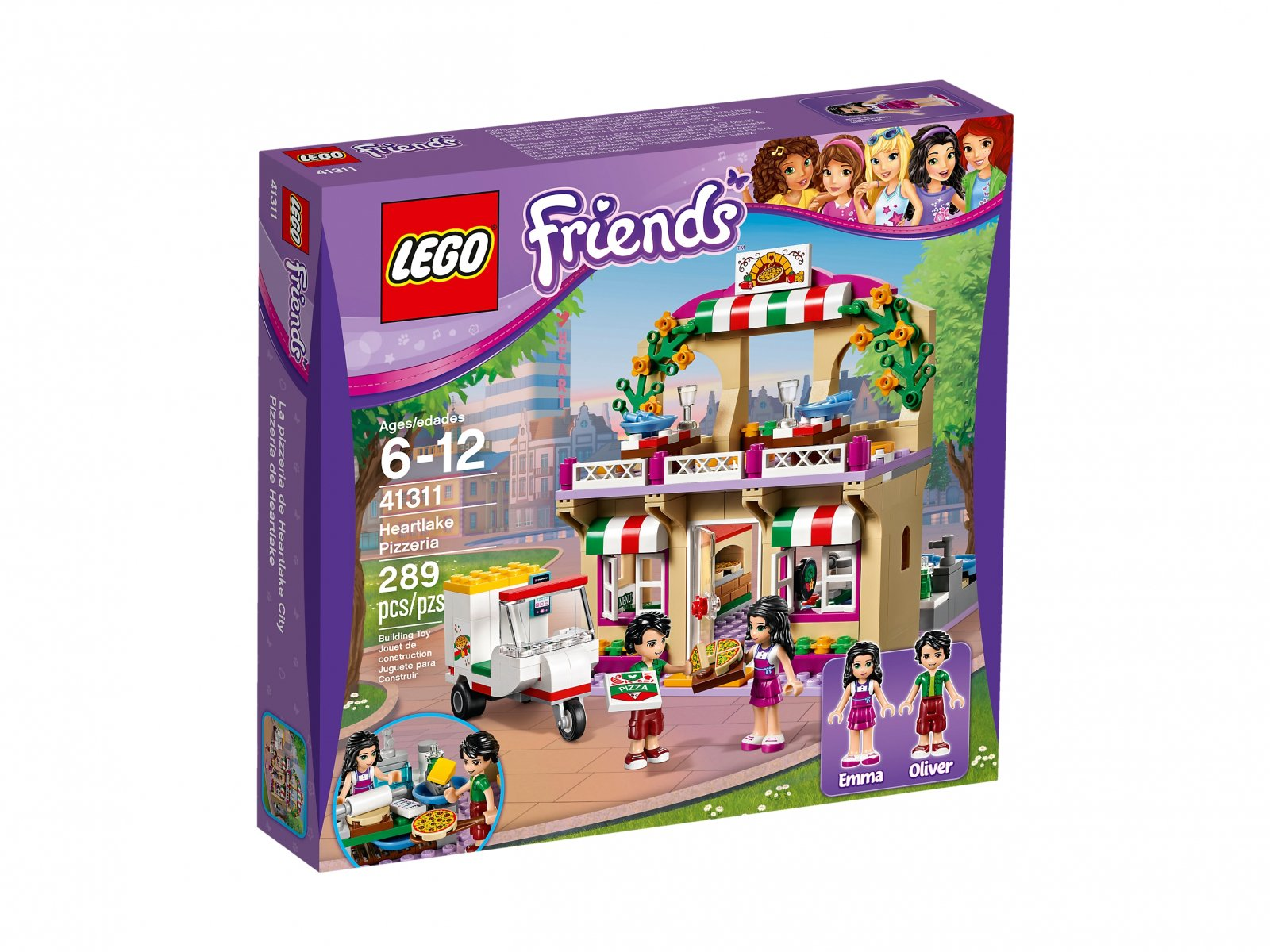 LEGO Friends Pizzeria w Heartlake