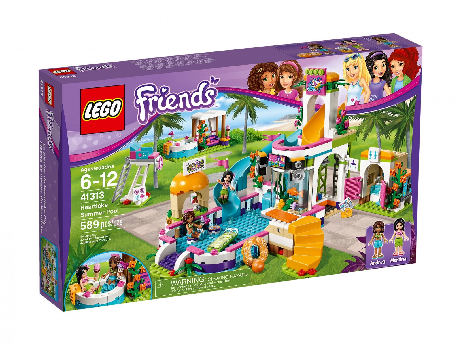 LEGO Friends 41313 Basen w Heartlake