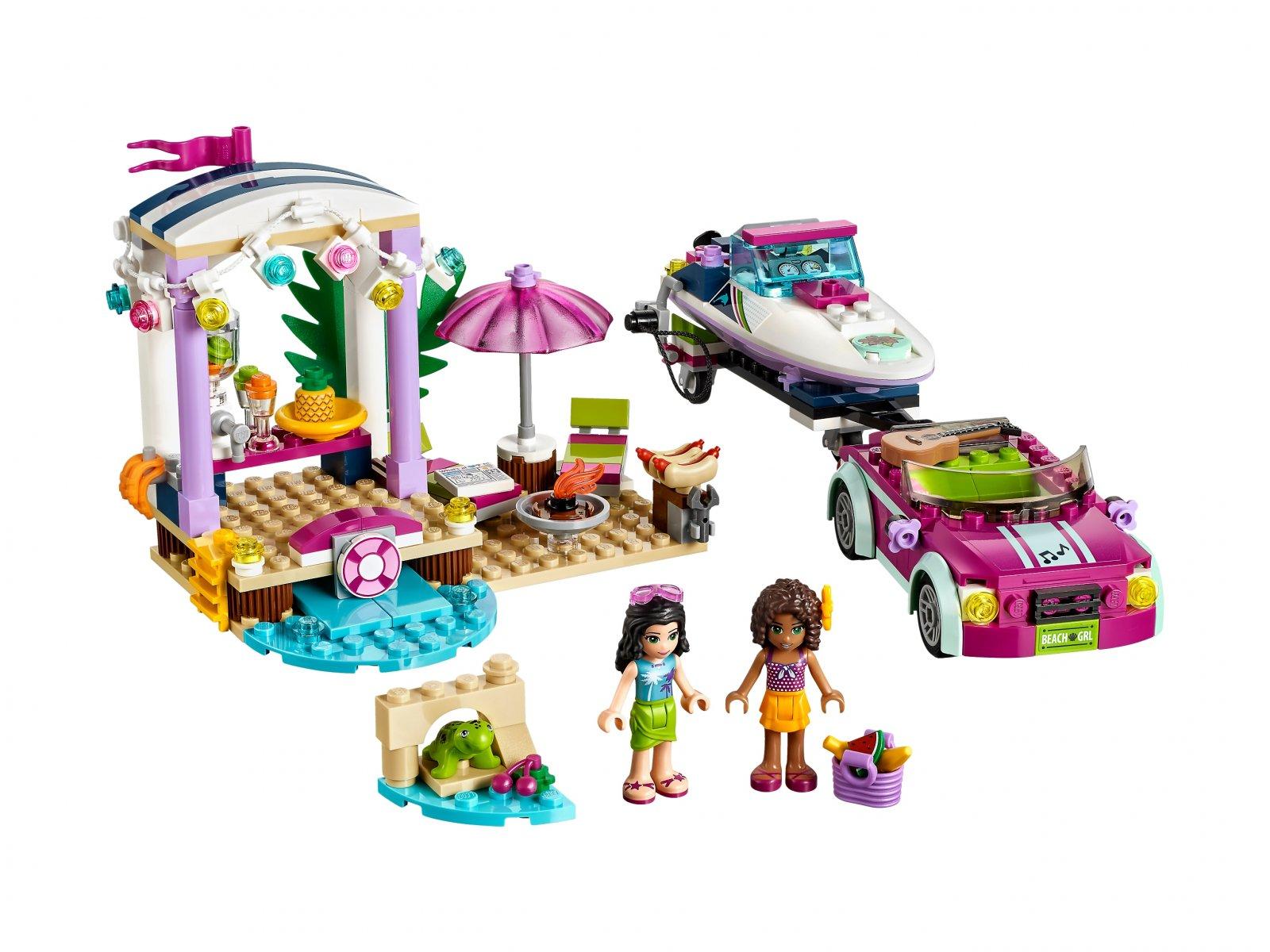 LEGO Friends 41316 Transporter motorówek Andrei