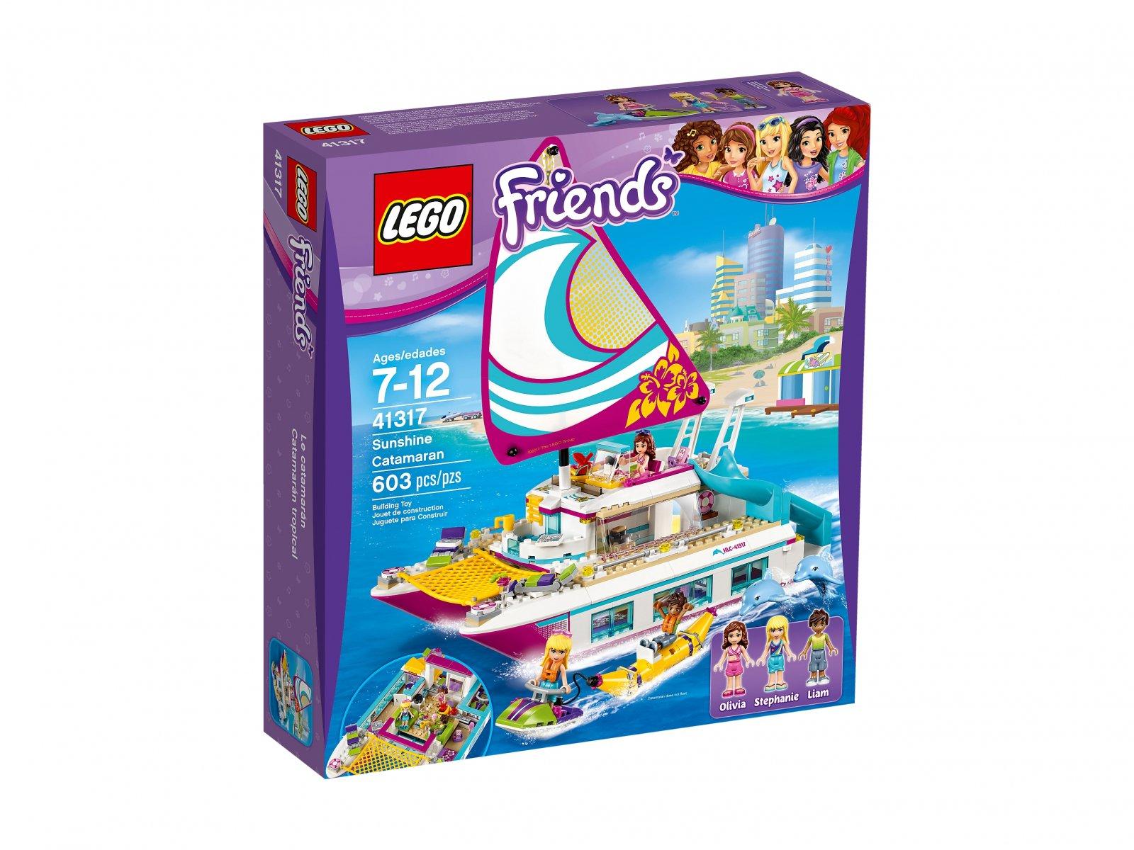LEGO Friends 41317 Słoneczny katamaran