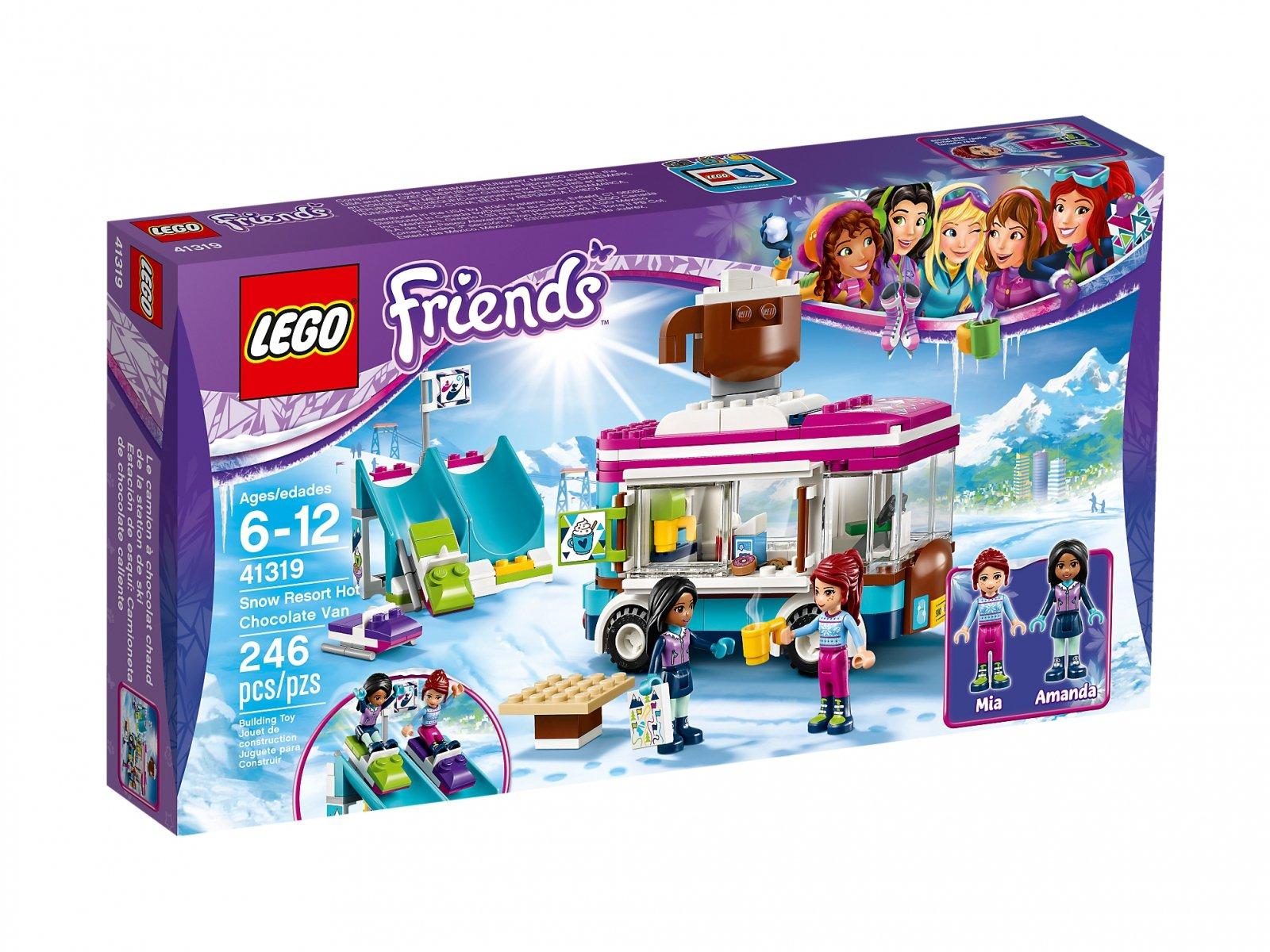 Lego 41319 Friends Furgonetka Z Gorącą Czekoladą