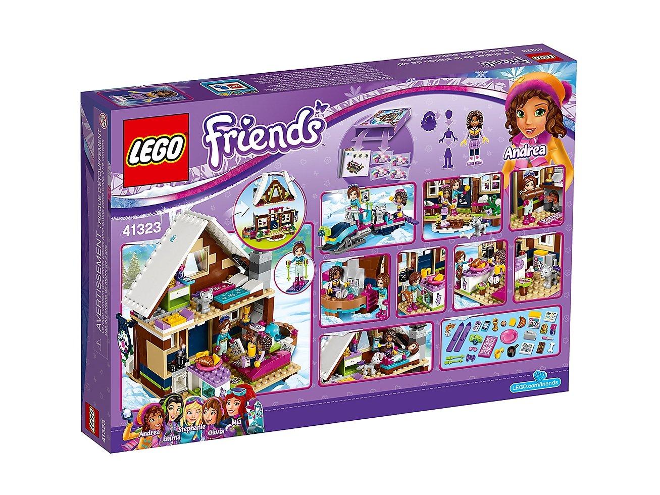 LEGO 41323 Friends Górski domek